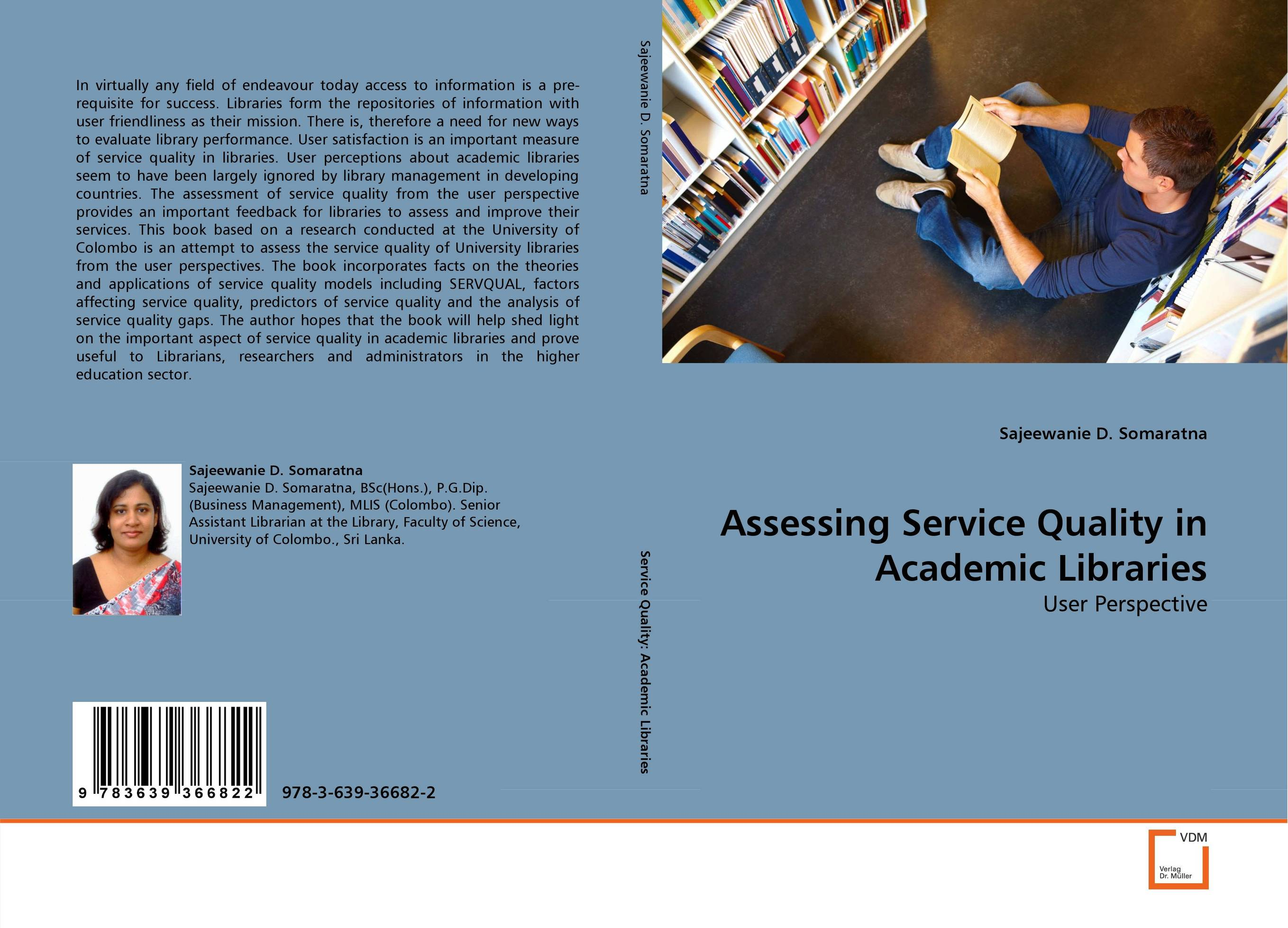Assessing Service Quality in Academic Libraries a decision support tool for library book inventory management