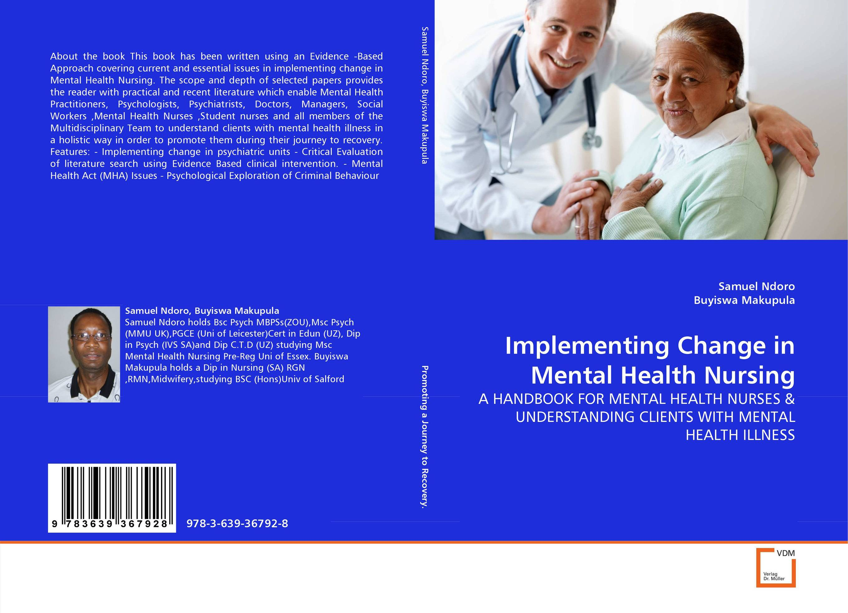 Implementing Change in Mental Health Nursing mental health traditional medicine and psychiatry in sudan