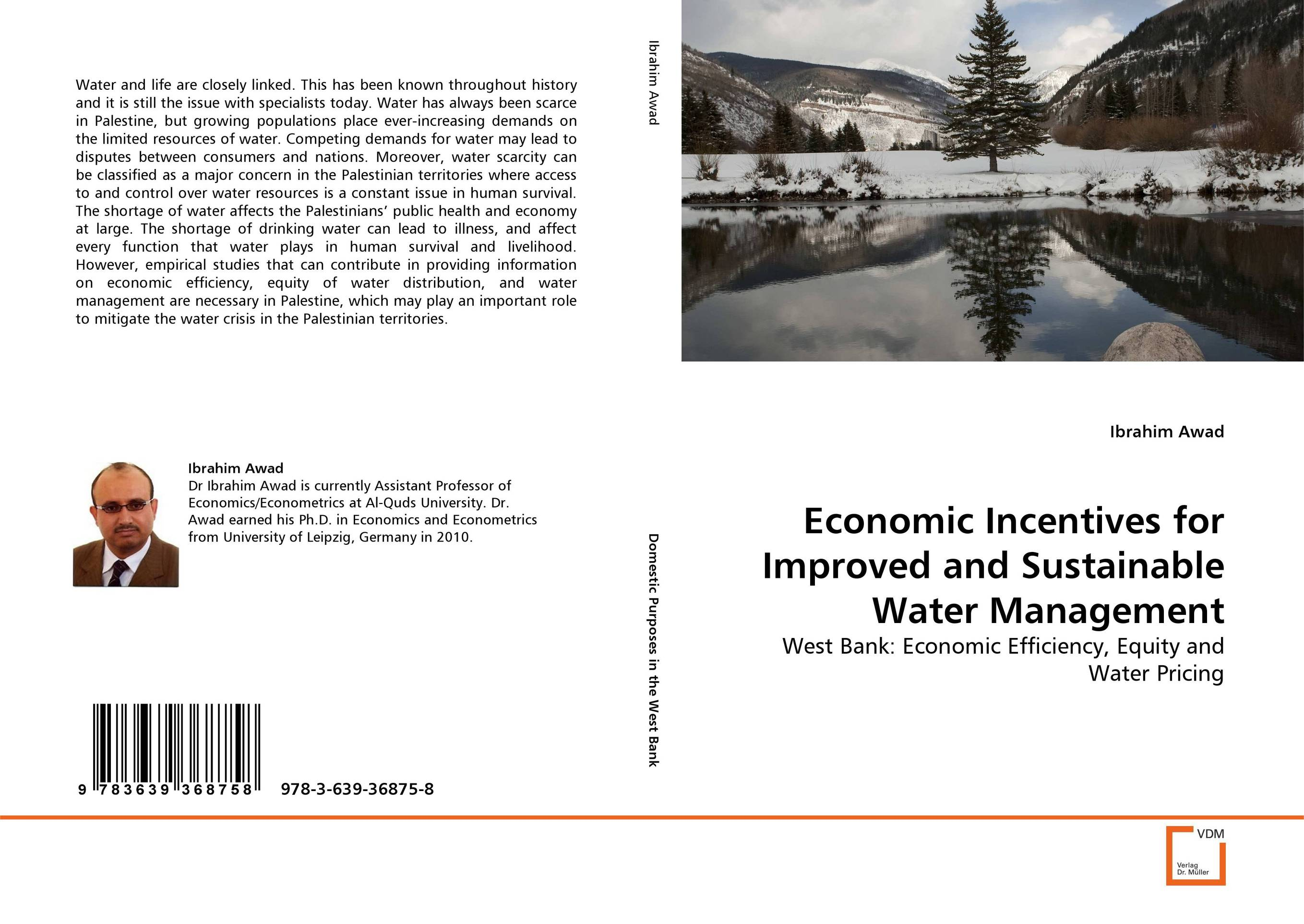 Economic Incentives for Improved and Sustainable Water Management economic methodology