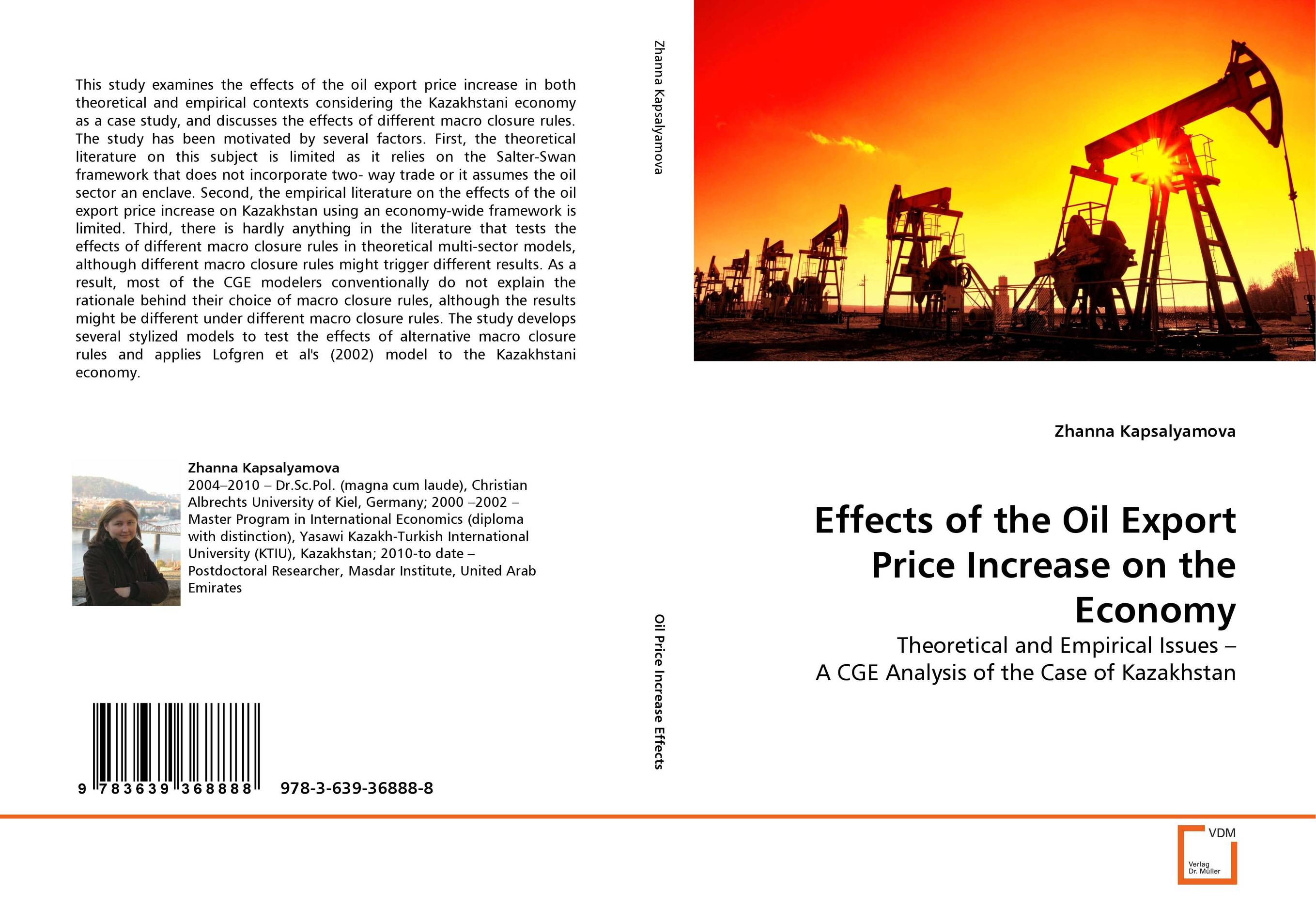 Effects of the Oil Export Price Increase on the Economy