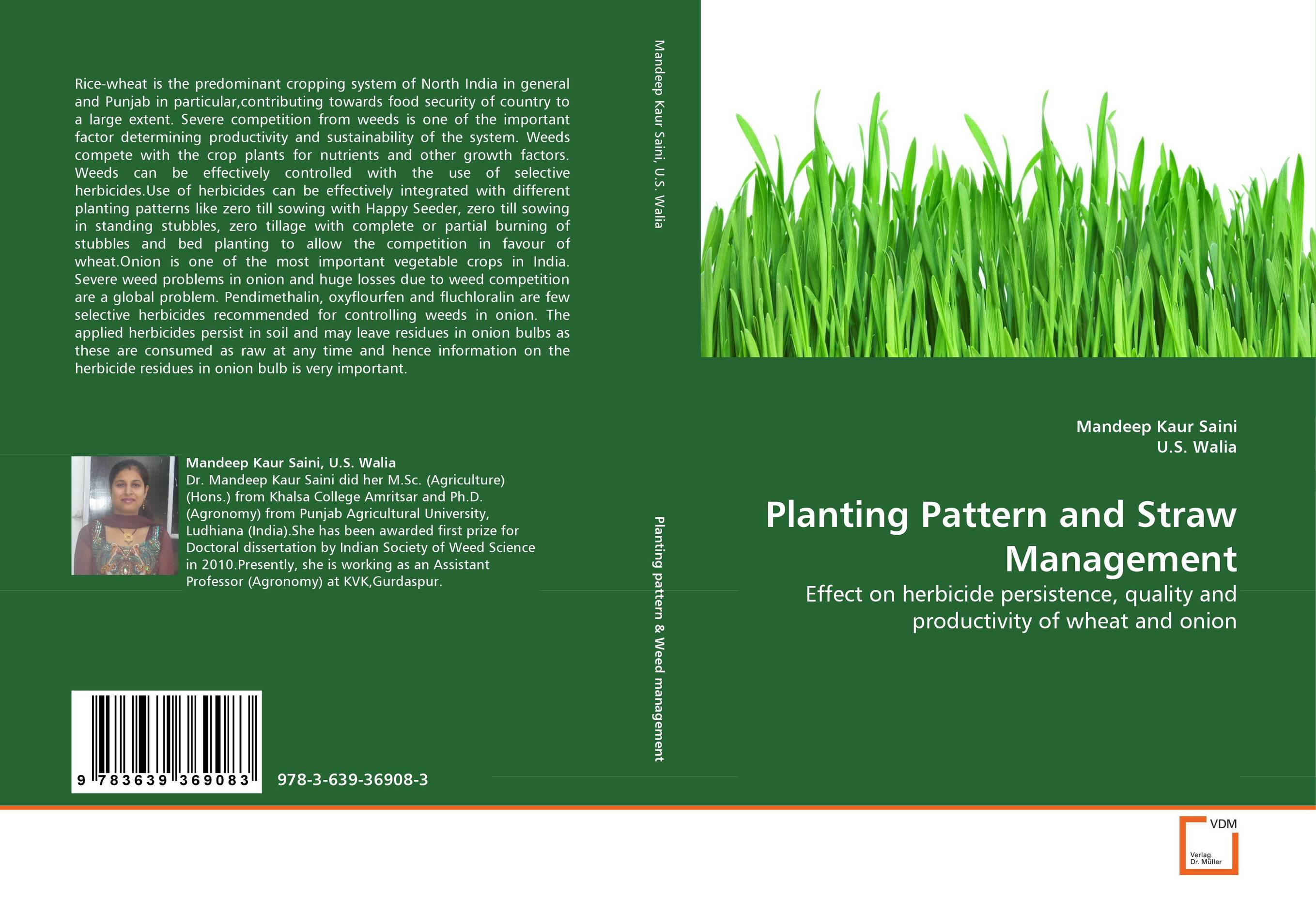 Planting Pattern and Straw Management natural enemy fauna in rice wheat system of india