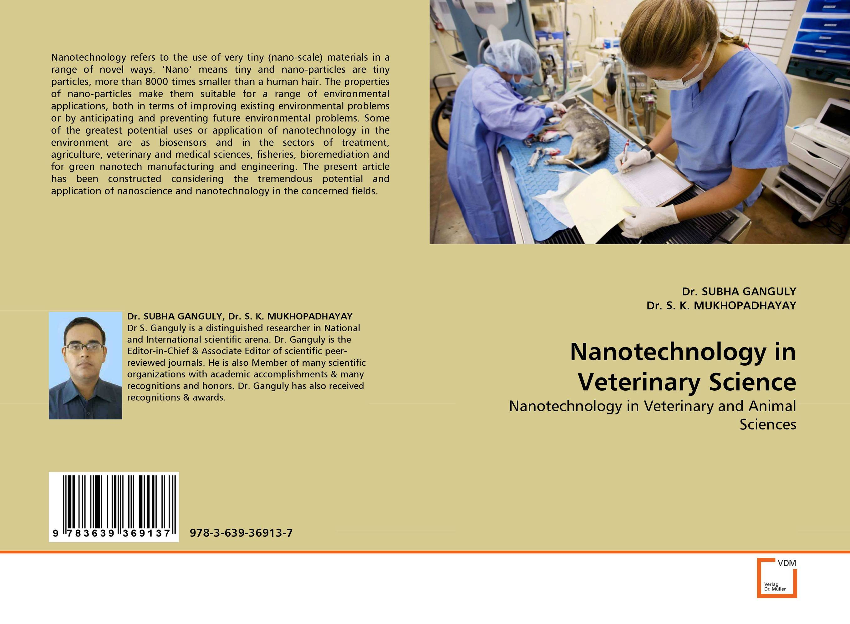 Nanotechnology in Veterinary Science alecia spooner m environmental science for dummies