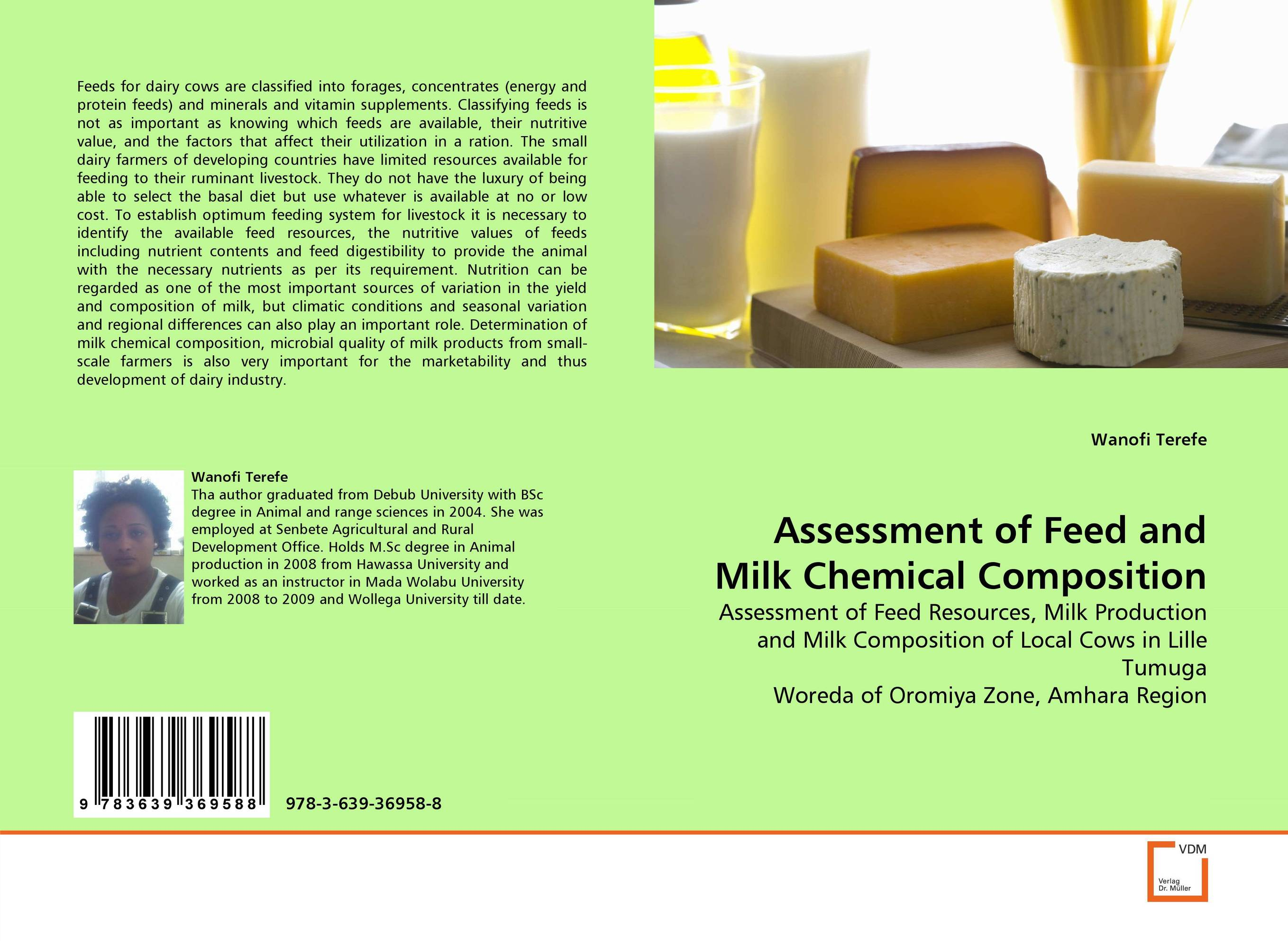 Assessment of Feed and Milk Chemical Composition diet selection using the nutritive value of forages