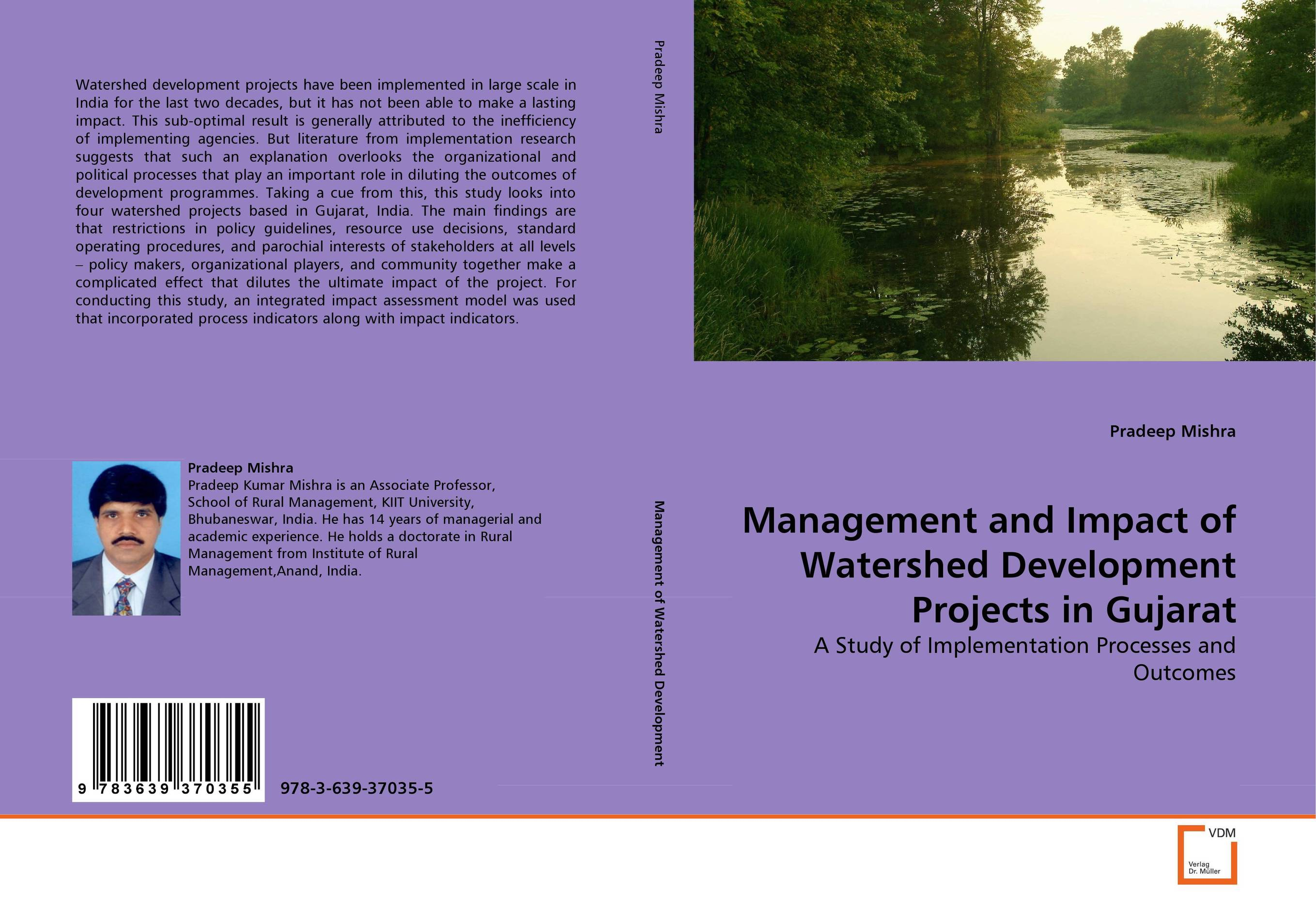 все цены на Management and Impact of Watershed Development Projects in Gujarat онлайн