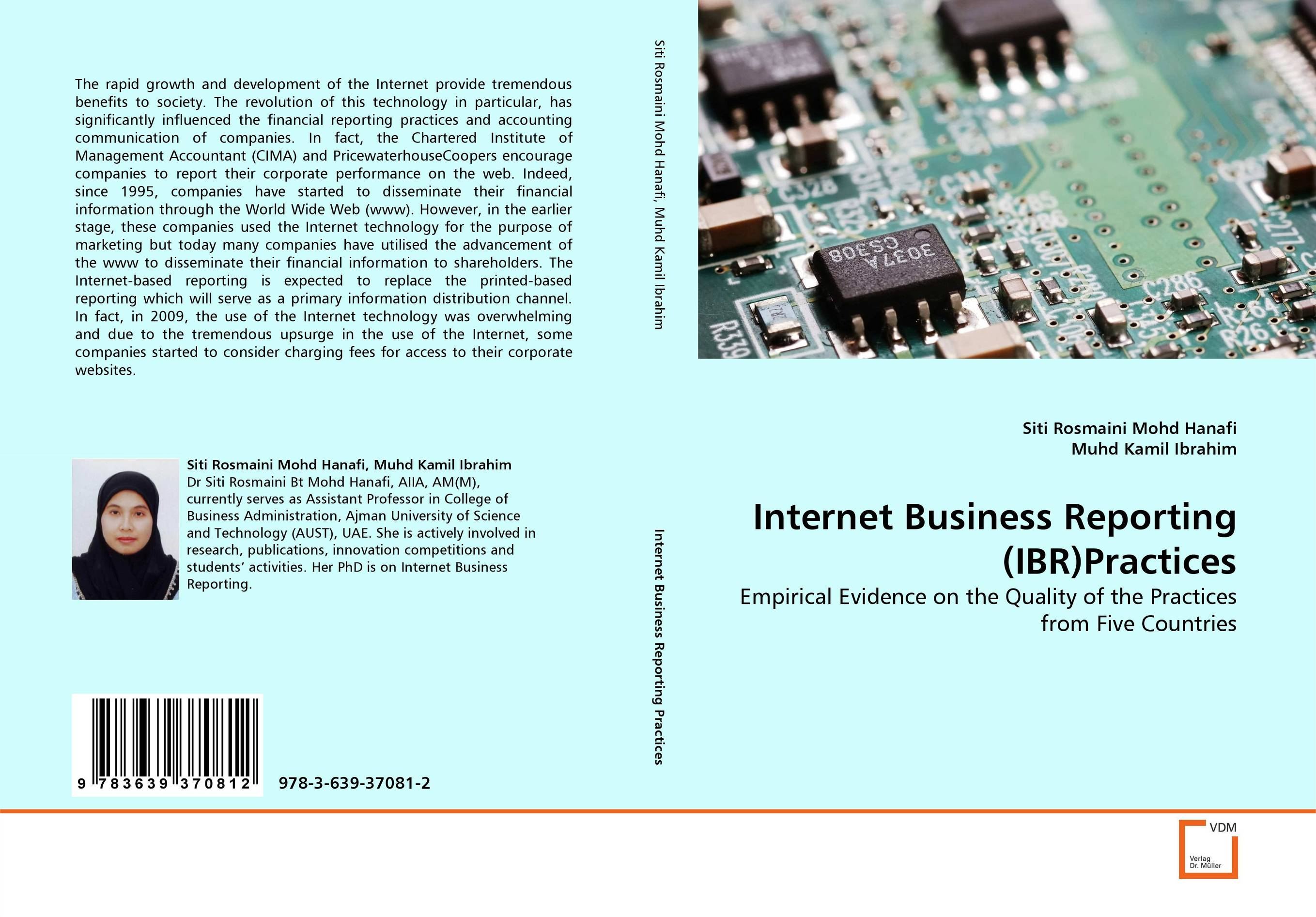 Internet Business Reporting (IBR)Practices overview of web based business