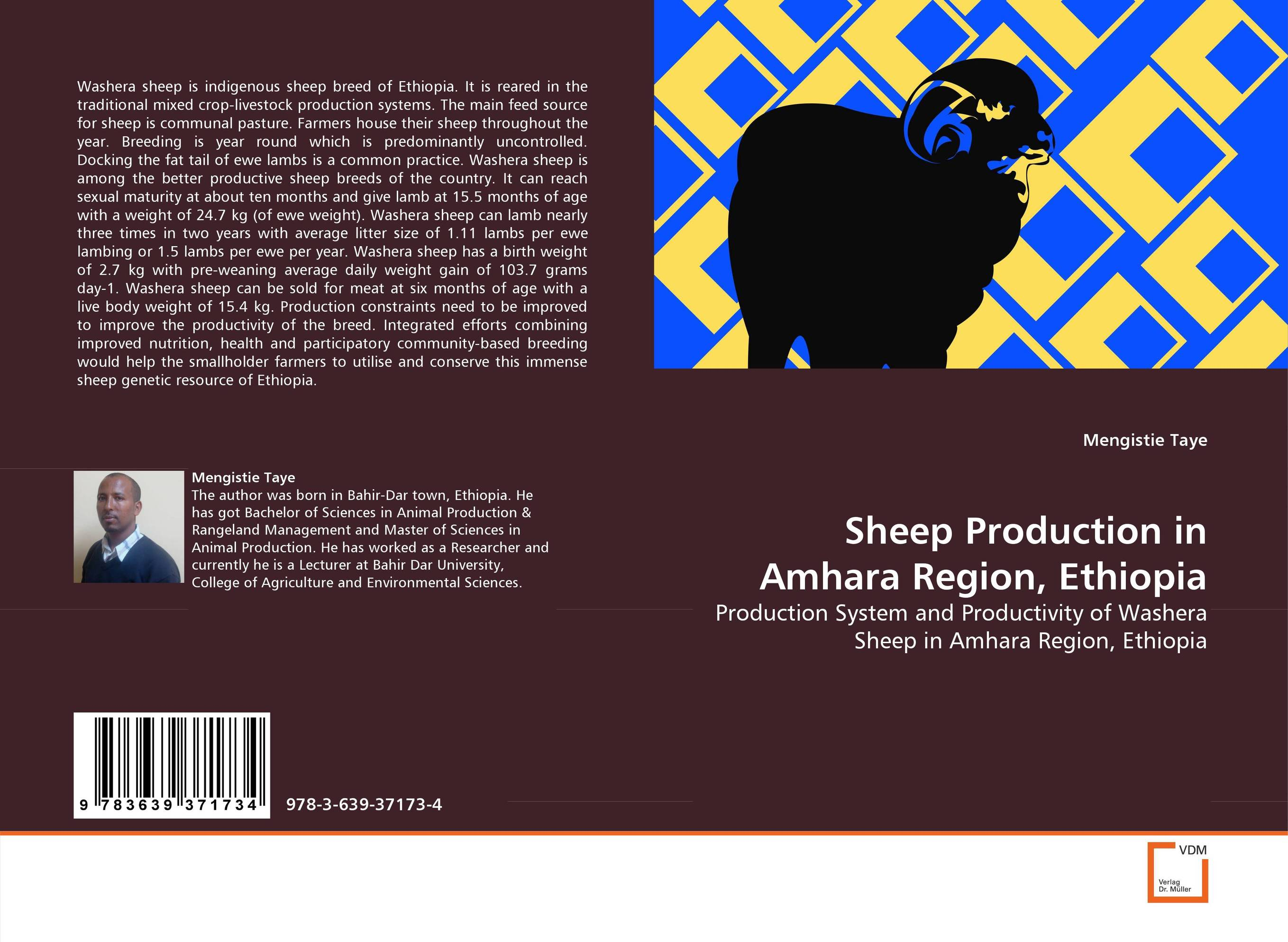 SHEEP PRODUCTION IN AMHARA REGION, ETHIOPIA evaluation of land suitability for rice production in amhara region
