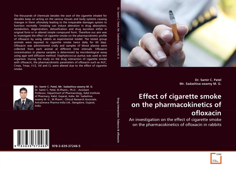 Effect of cigarette smoke on the pharmacokinetics of ofloxacin effect of smoking on periodontium