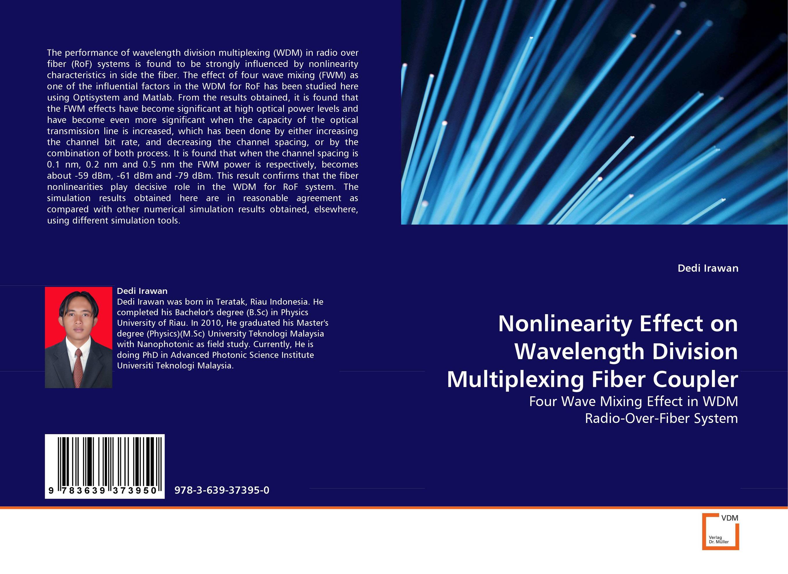 Nonlinearity Effect on Wavelength Division Multiplexing Fiber Coupler optical fiber transmission systems based on mode division multiplexing
