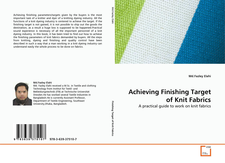 Achieving Finishing Target of Knit Fabrics