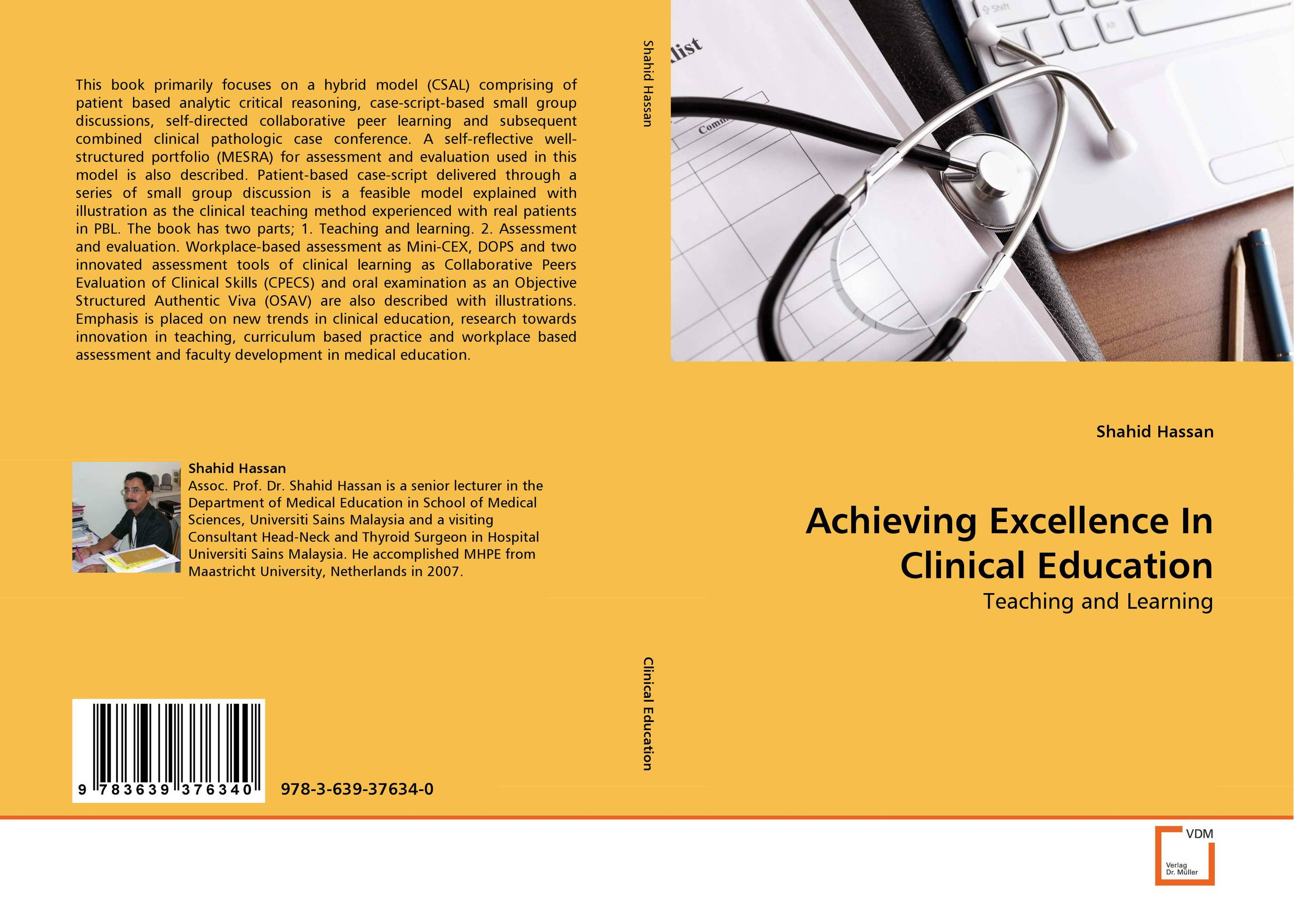 Achieving Excellence In Clinical Education ahmad tijani surajudeen discussion method versus students'competence in collaborative learning