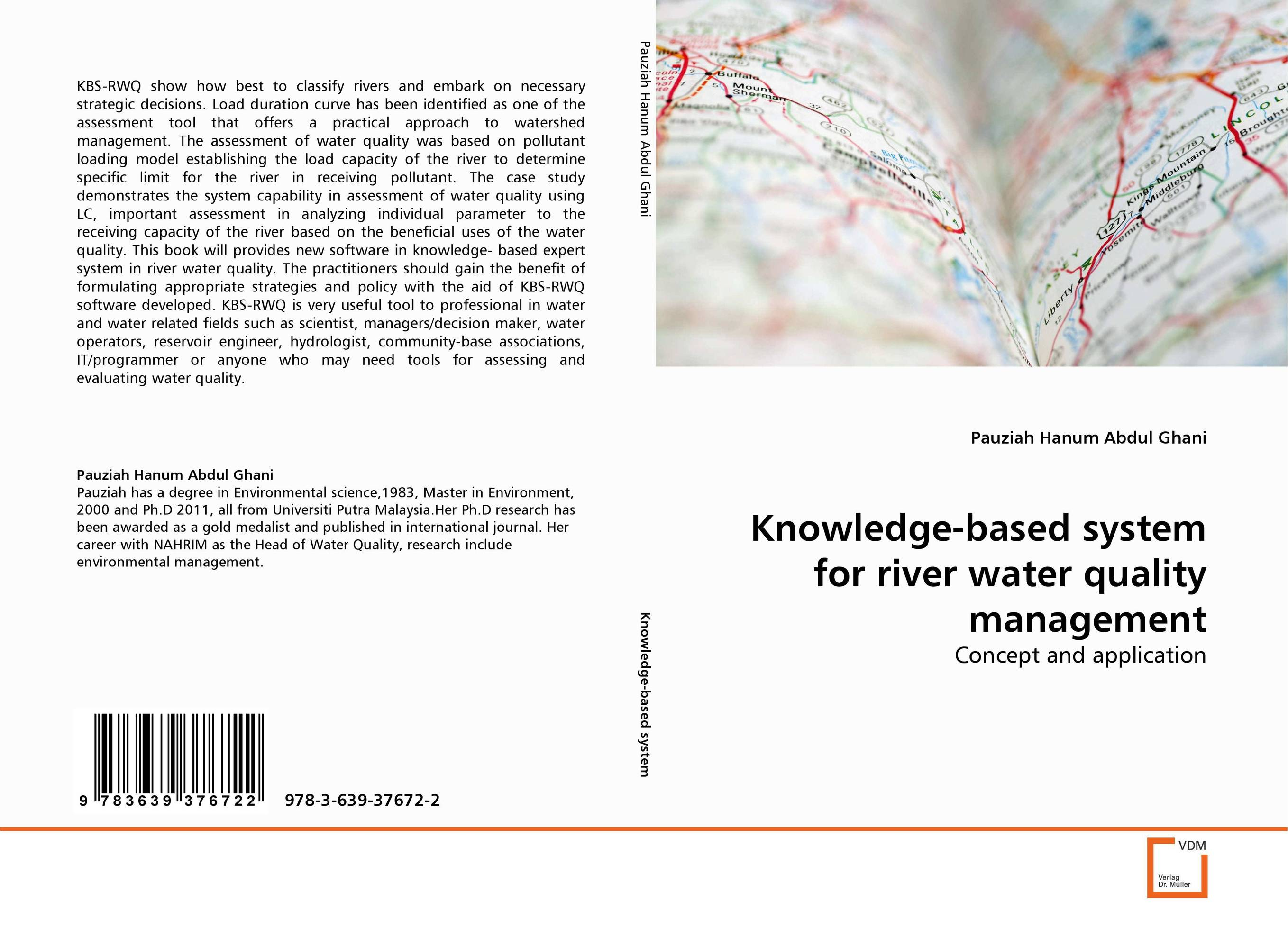 Knowledge-based system for river water quality management bride of the water god v 3