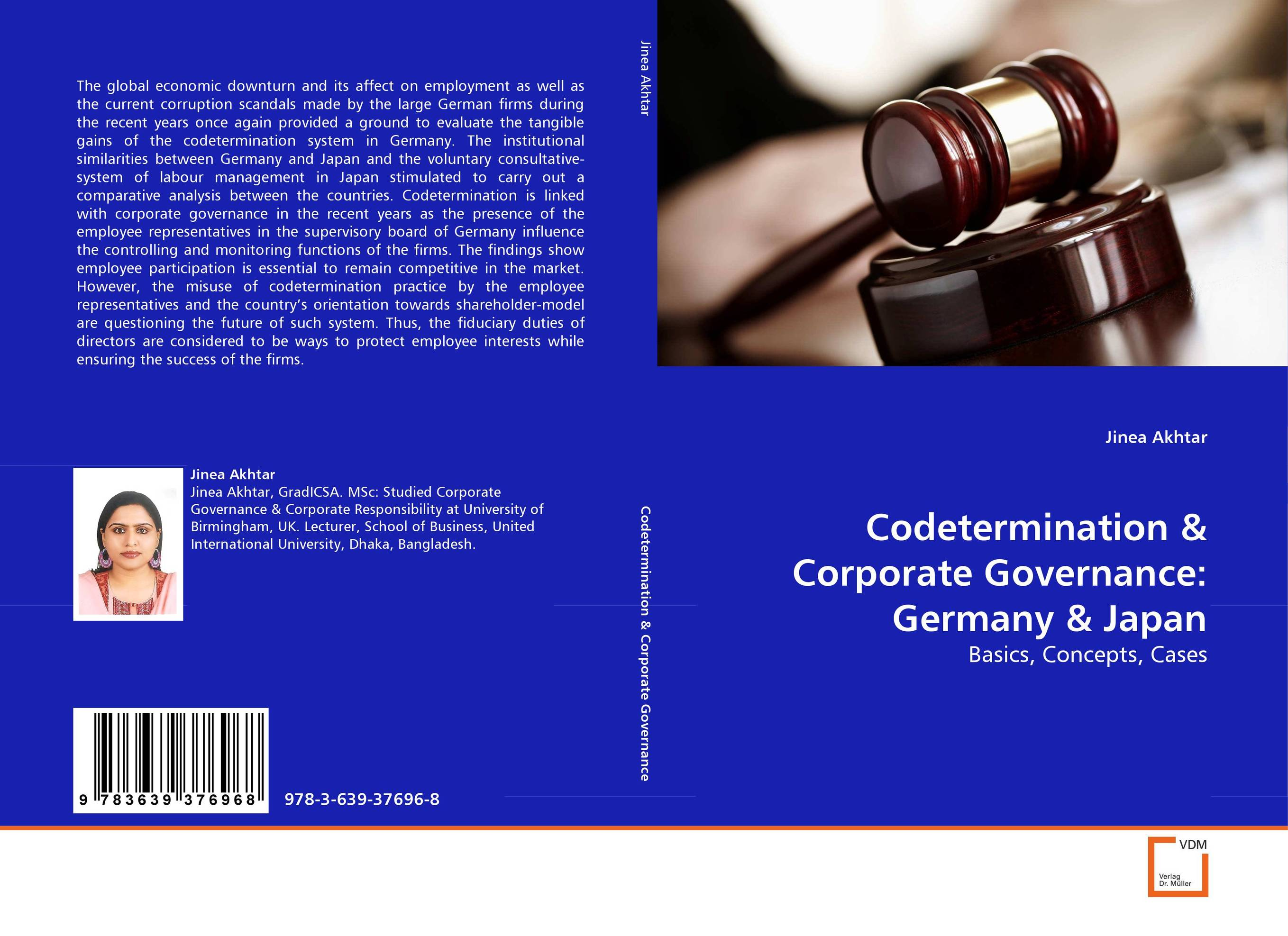 Codetermination & Corporate Governance: Germany & Japan corporate governance and firm value