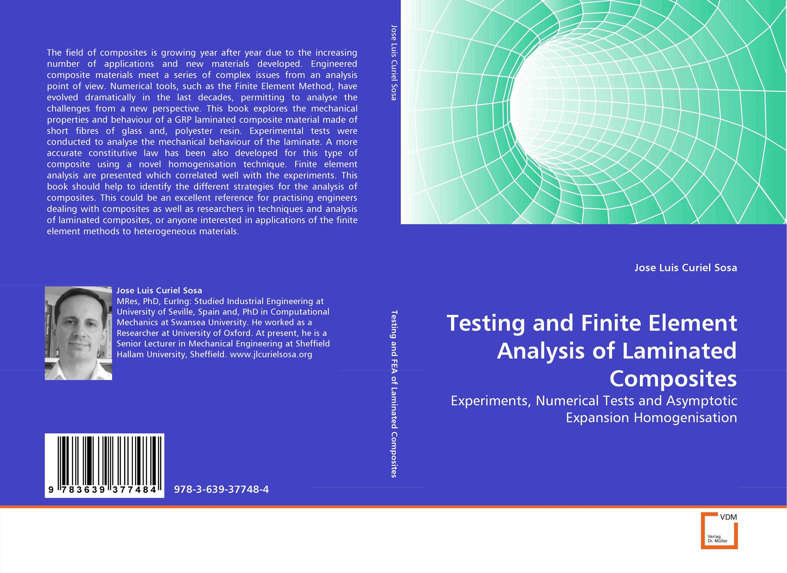 Testing and Finite Element Analysis of Laminated Composites
