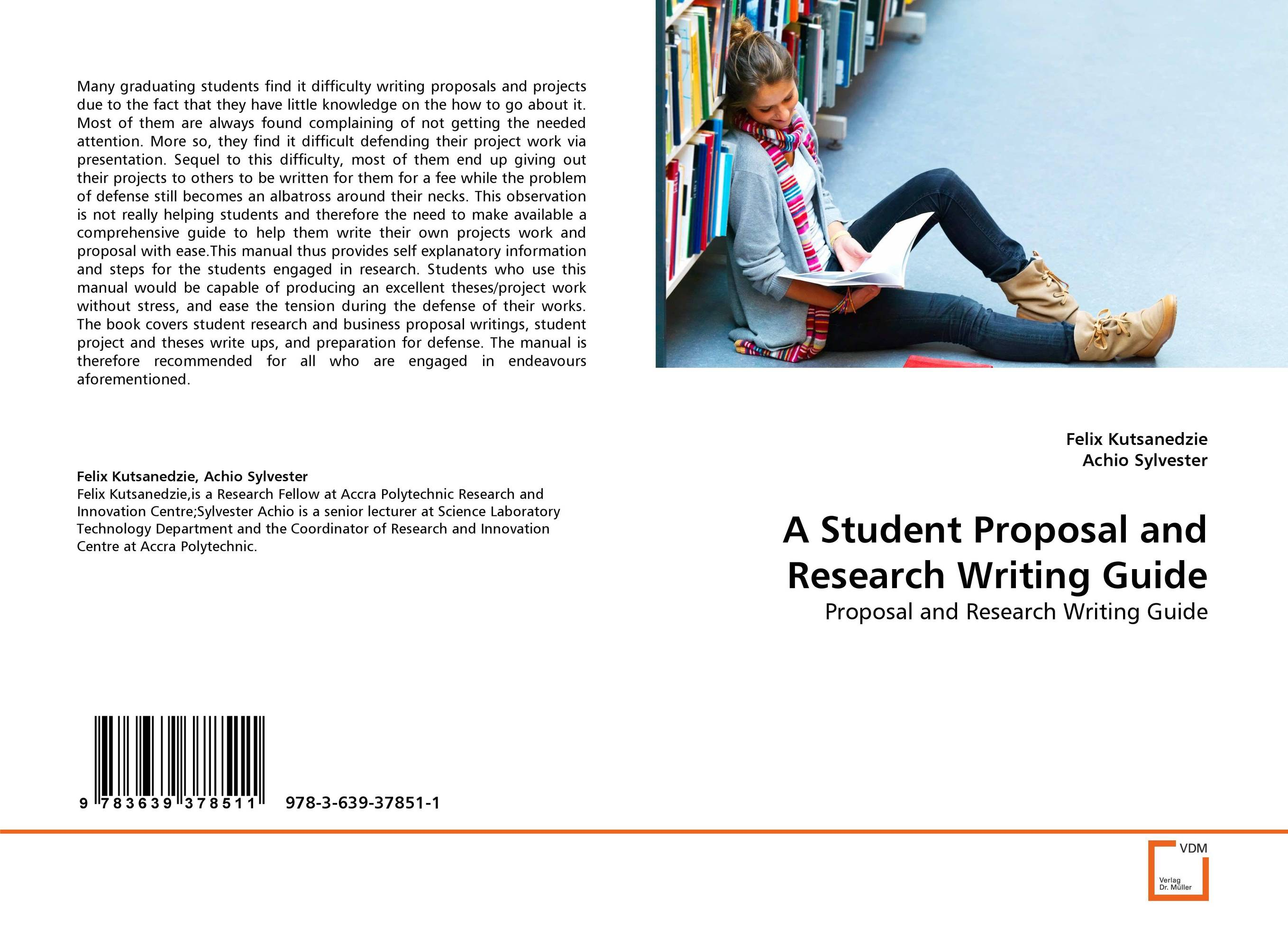 A Student Proposal and Research Writing Guide