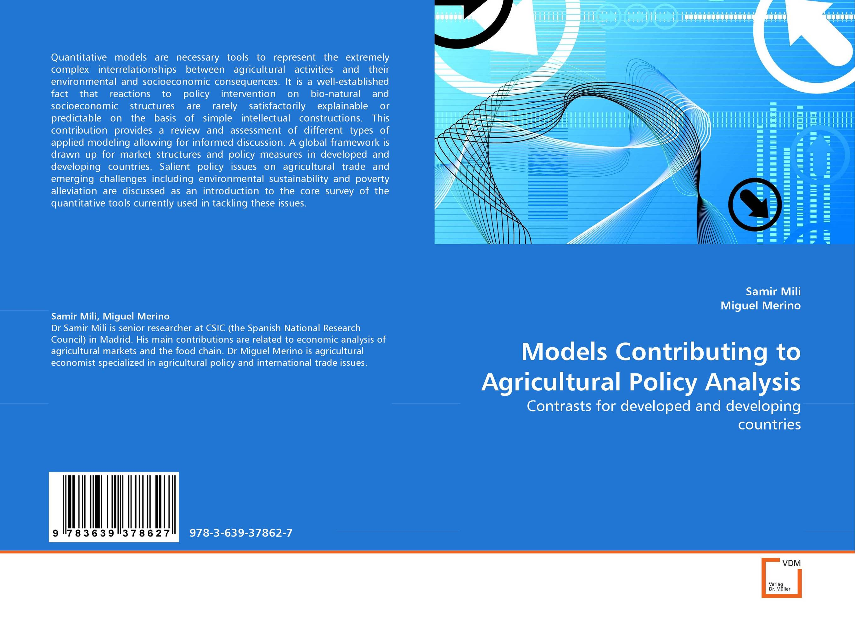 Models Contributing to Agricultural Policy Analysis