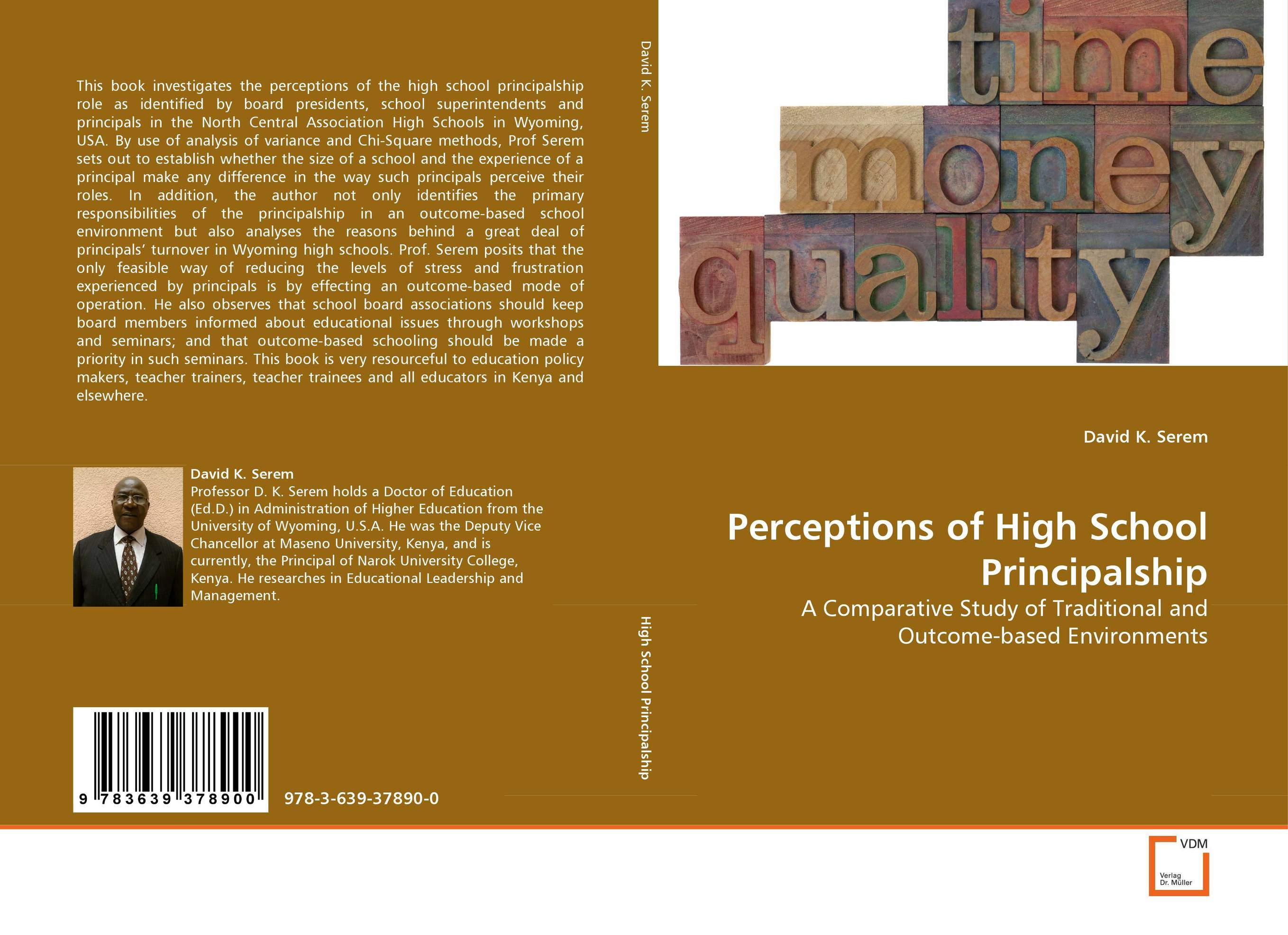 Perceptions of High School Principalship the assistant principalship as a career
