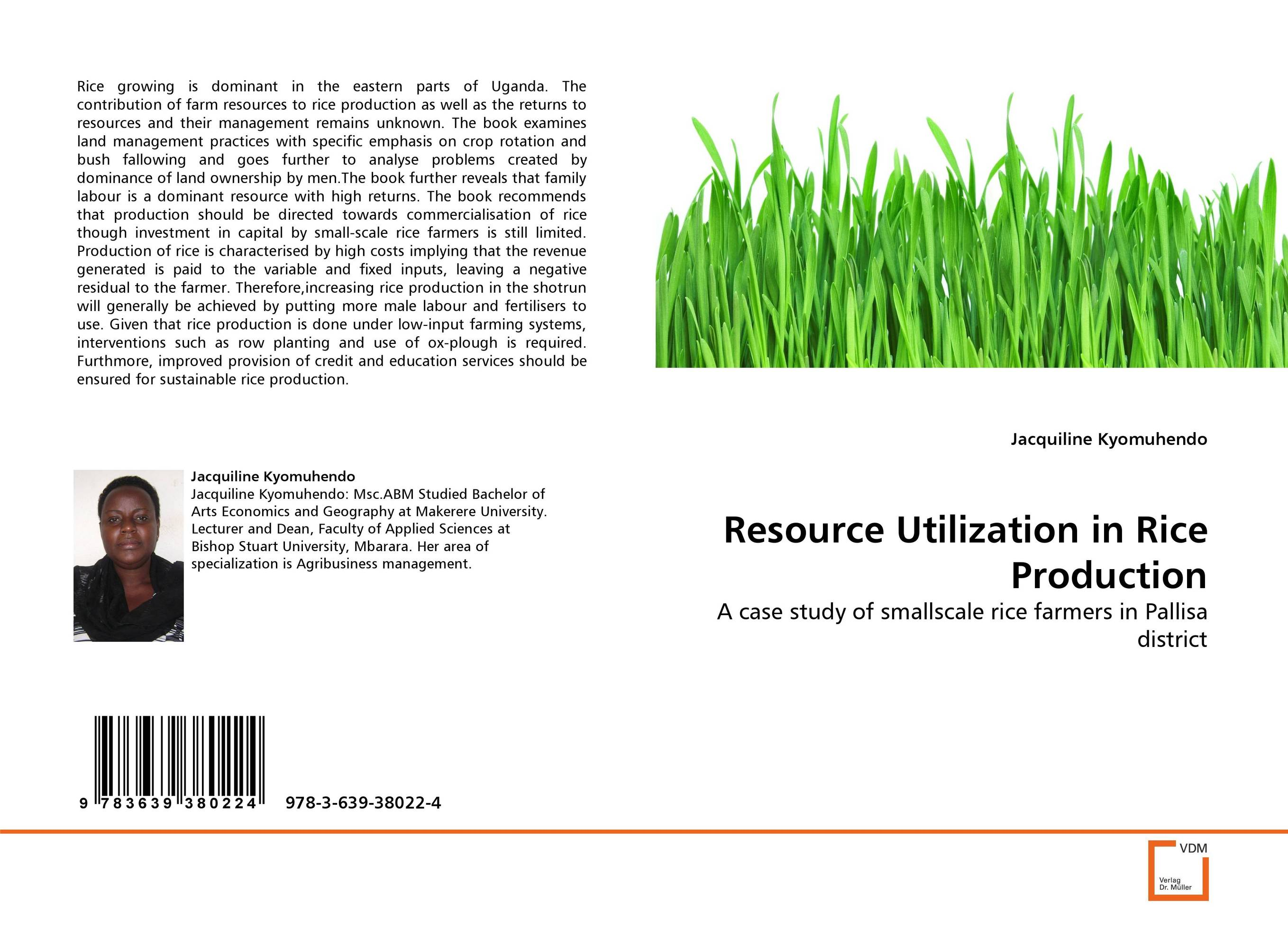 Resource Utilization in Rice Production lipid production by oleaginous yeasts