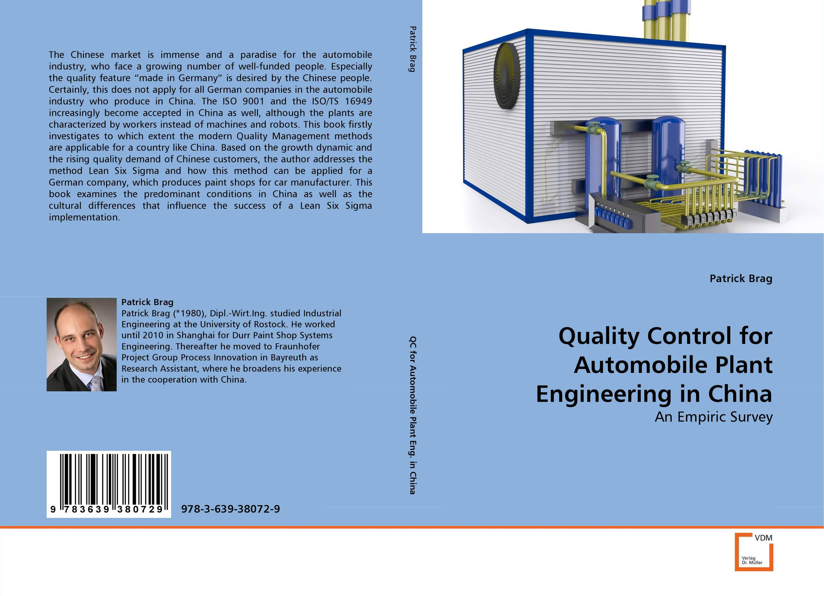 Quality Control for Automobile Plant Engineering in China lean six sigma for dummies