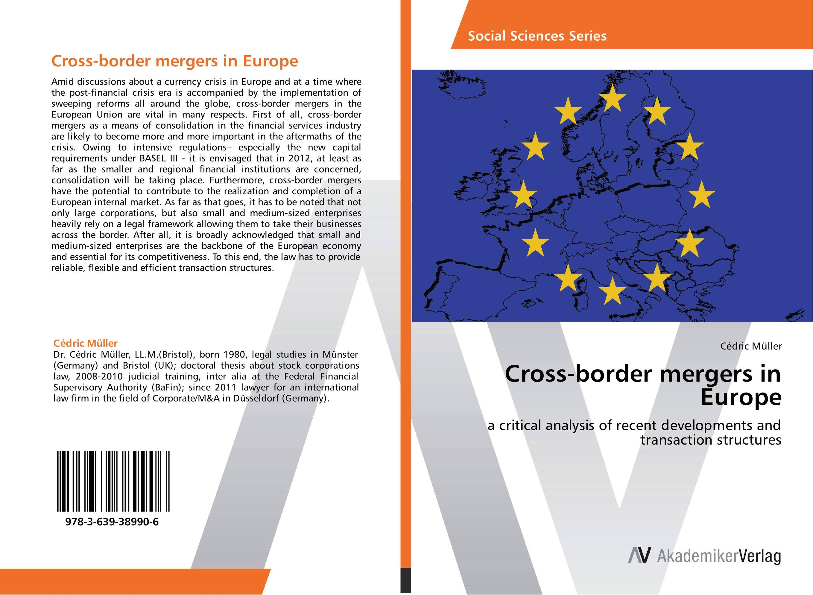 Cross-border mergers in Europe цена и фото