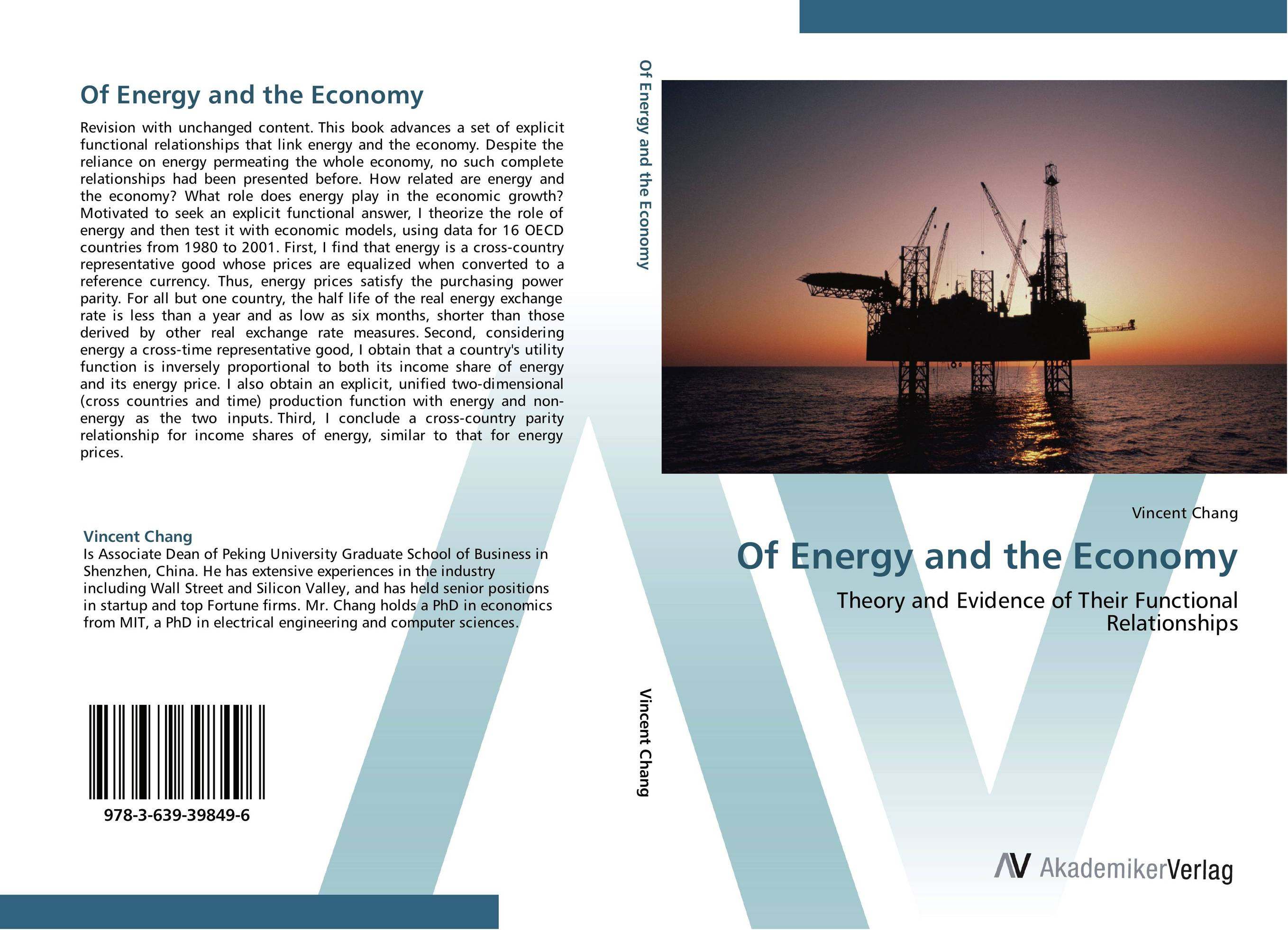 Of Energy and the Economy p b eregha energy consumption oil price and macroeconomic performance in energy dependent african countries