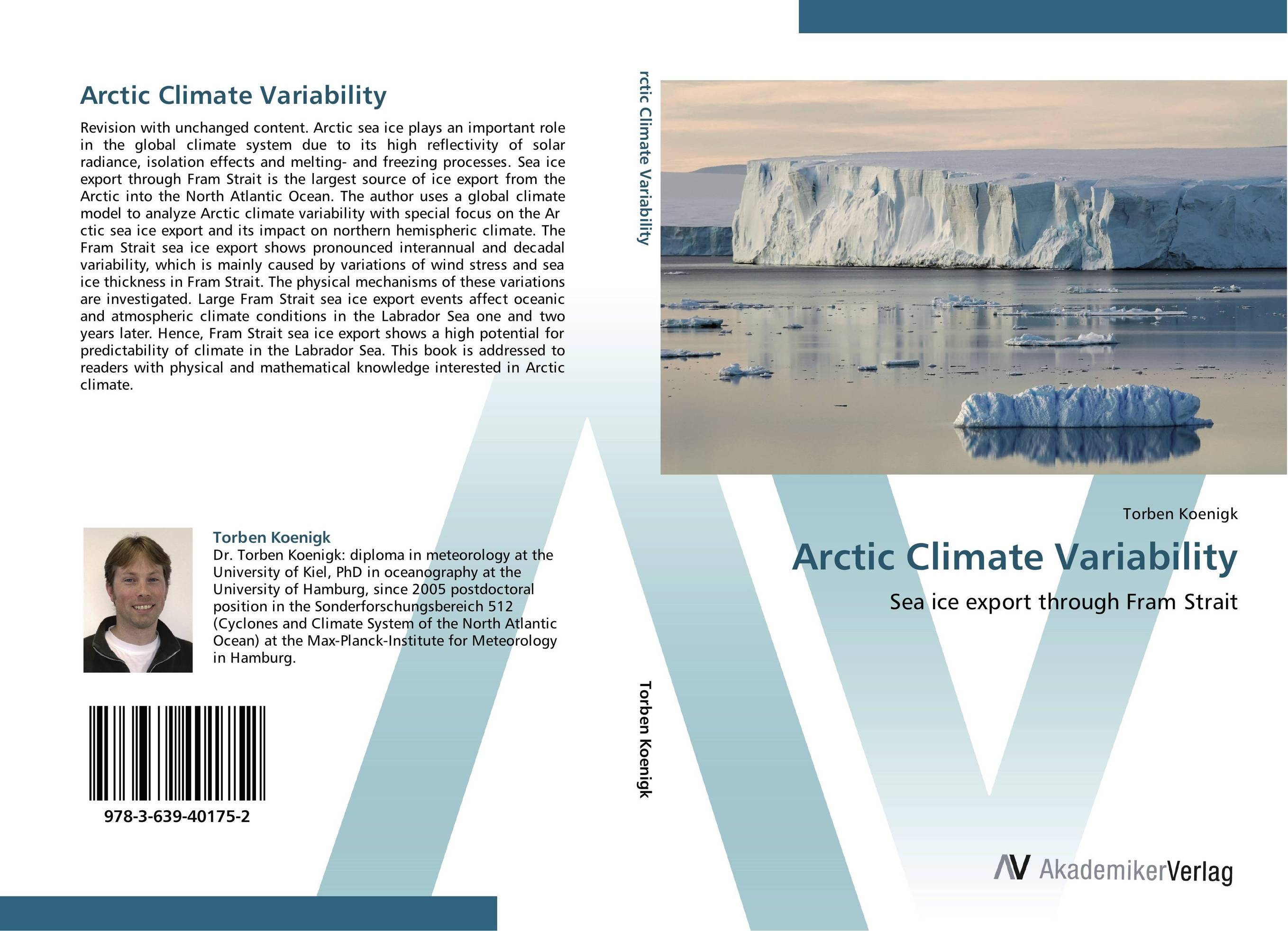 Arctic Climate Variability suh jude abenwi the economic impact of climate variability