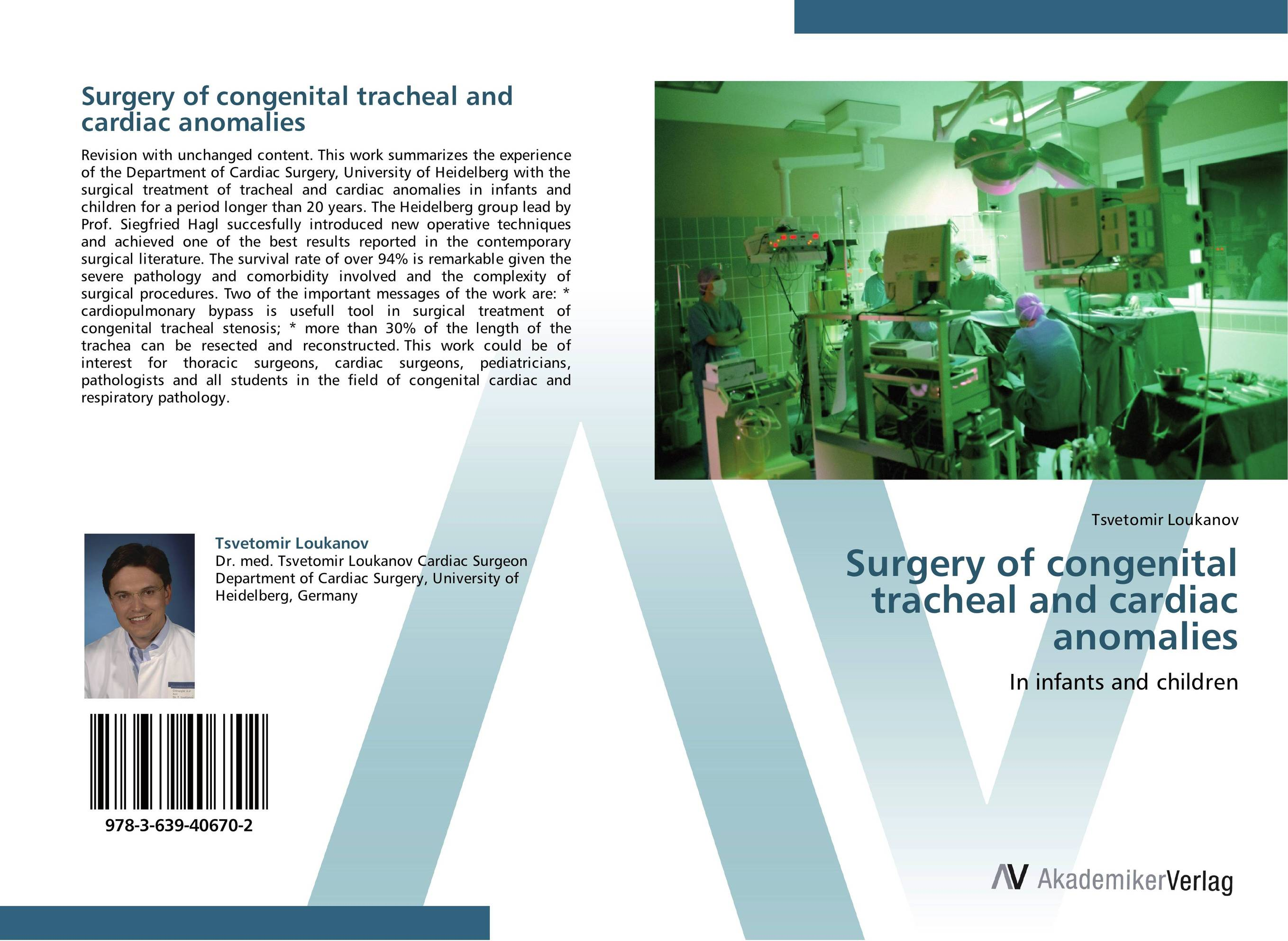 Surgery of congenital tracheal and cardiac anomalies альбом cephalotripsy uterovaginal insertion of extirpated anomalies