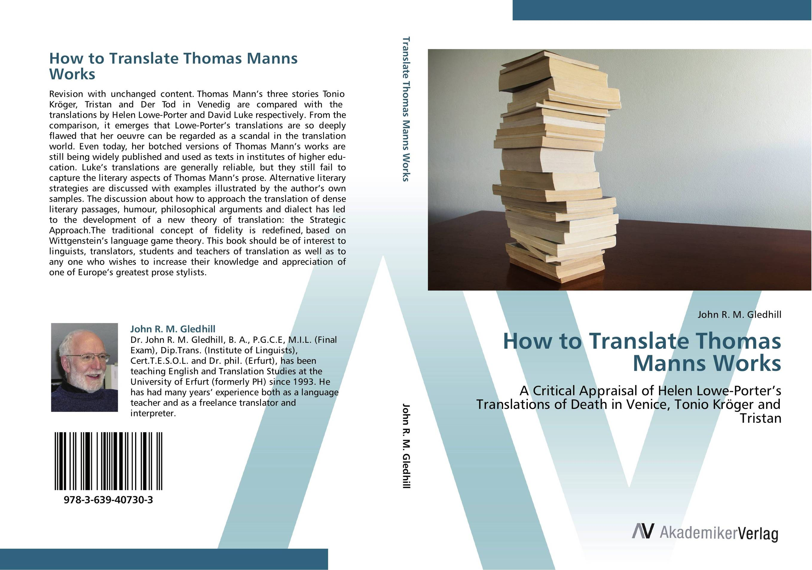 How to Translate Thomas Manns Works