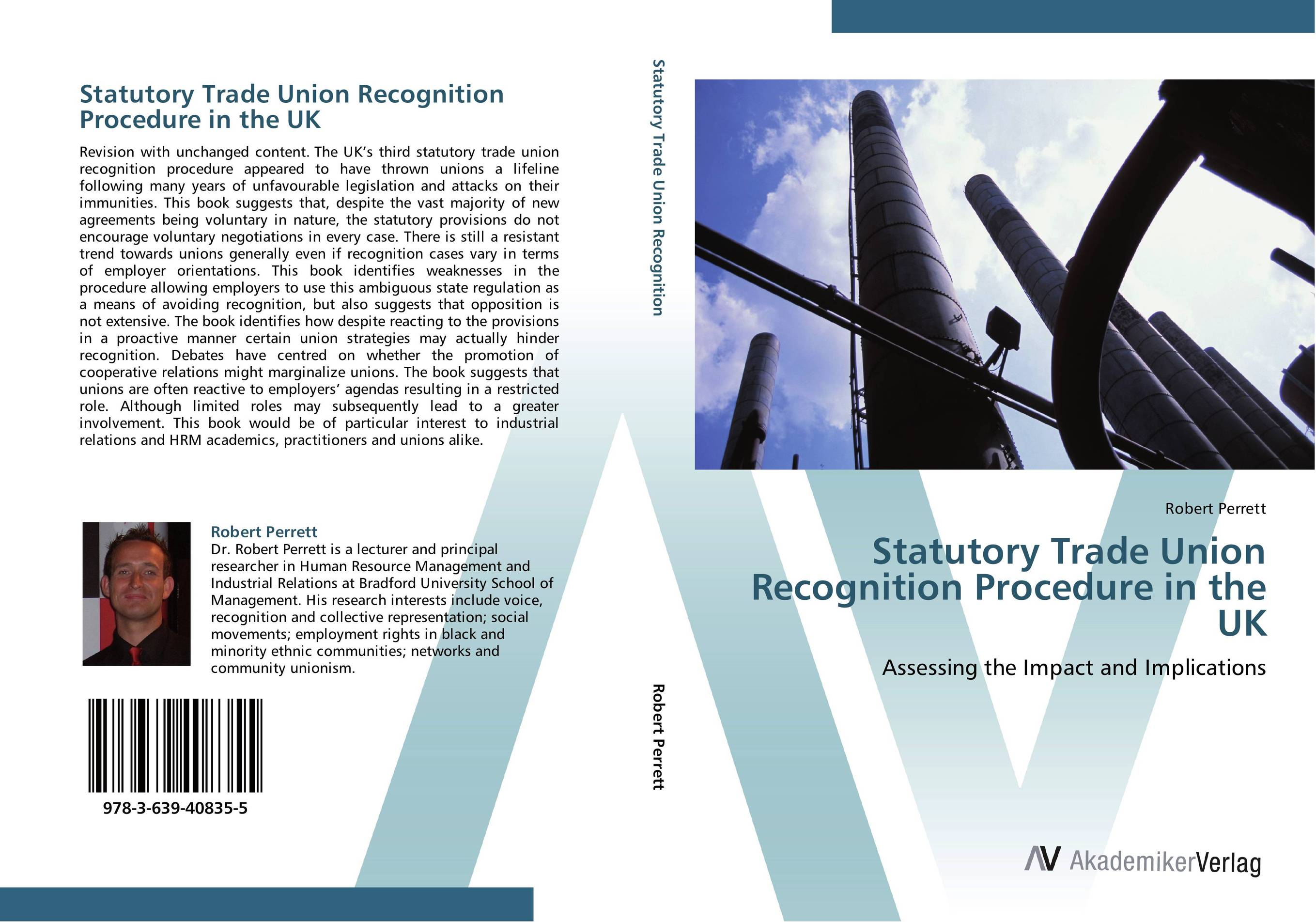 Statutory Trade Union Recognition Procedure in the UK