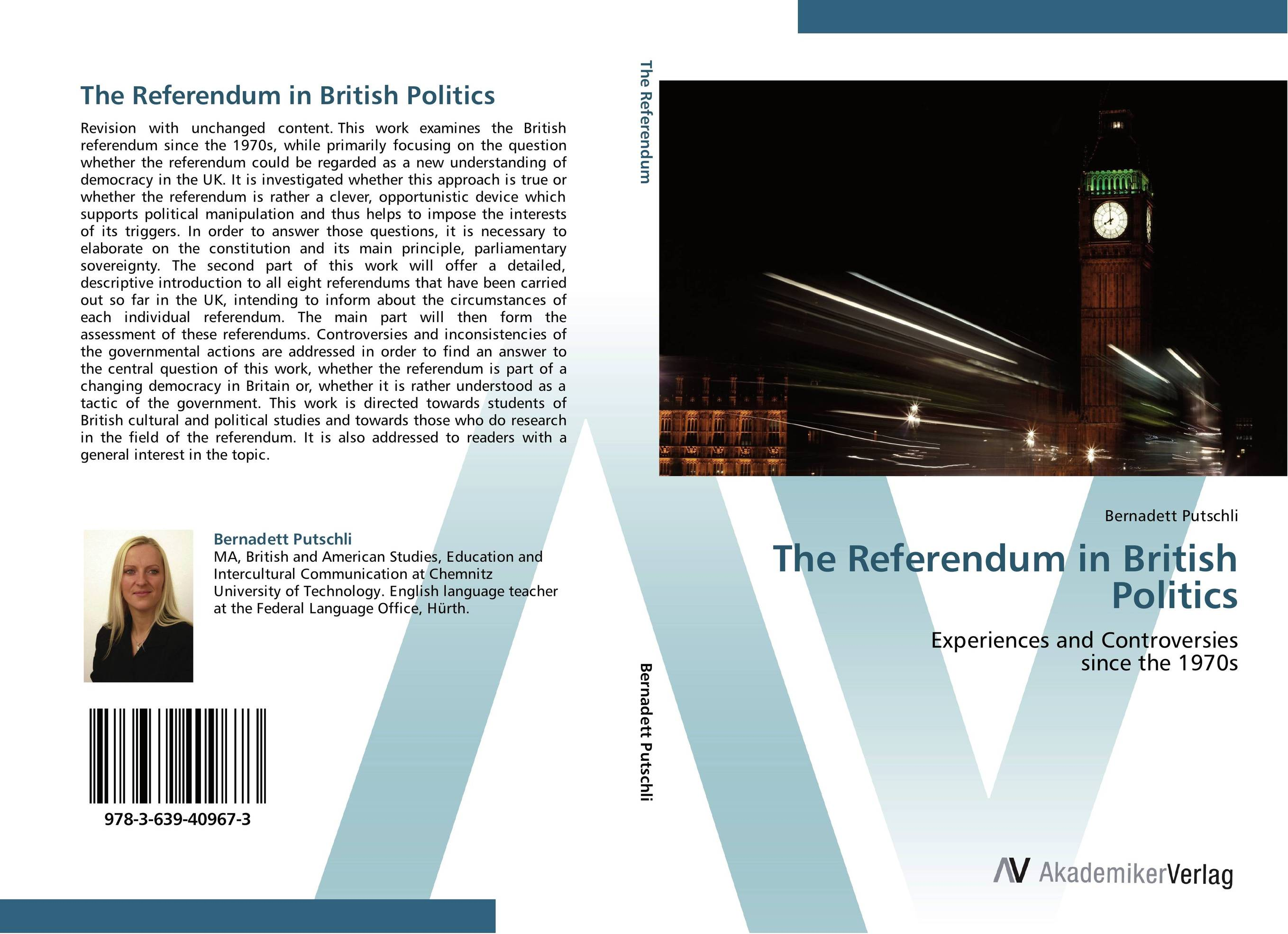 The Referendum in British Politics strict democracy burning the bridges in politics