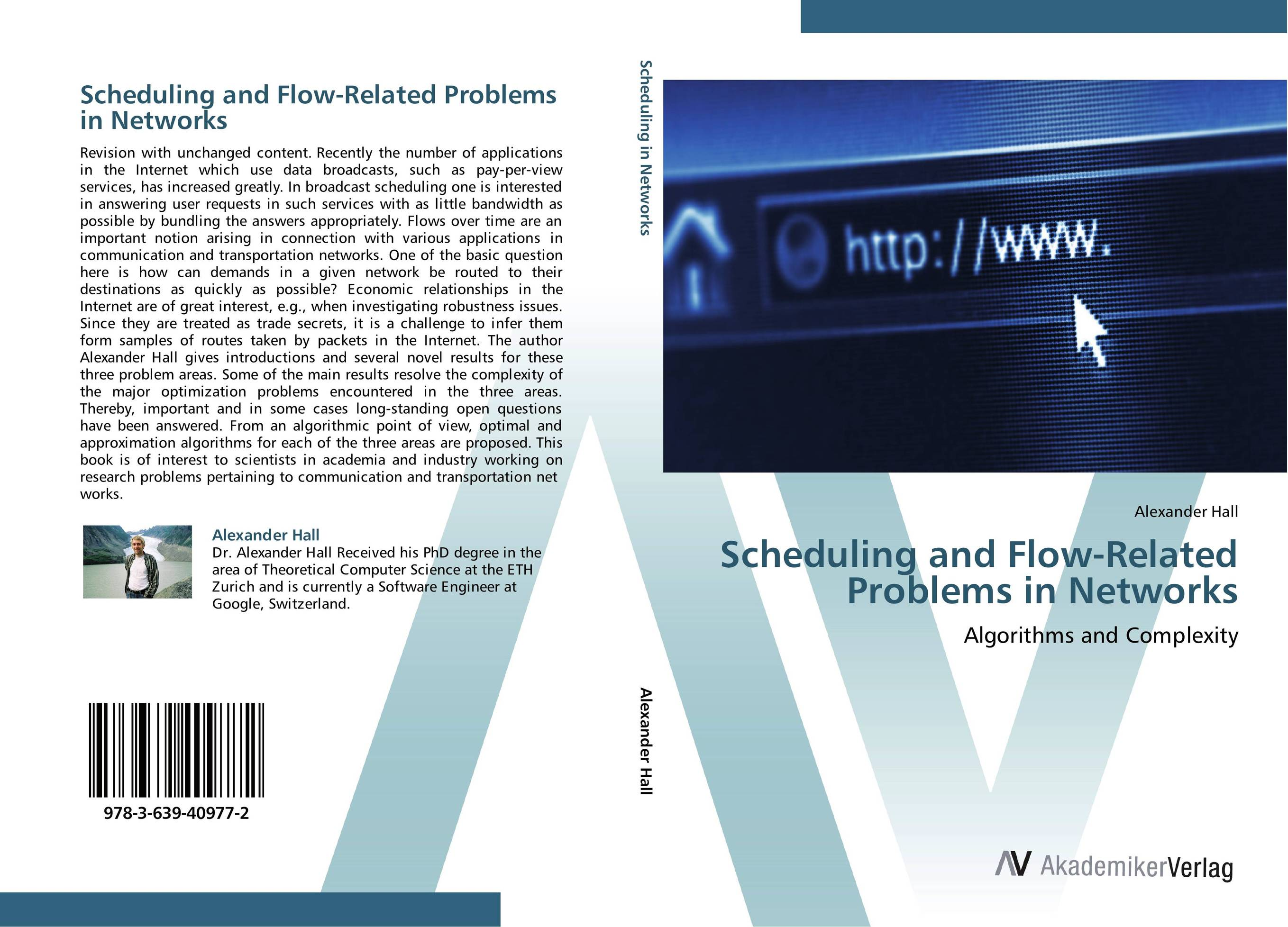 Scheduling and Flow-Related Problems in Networks investigating problems pertaining to concord