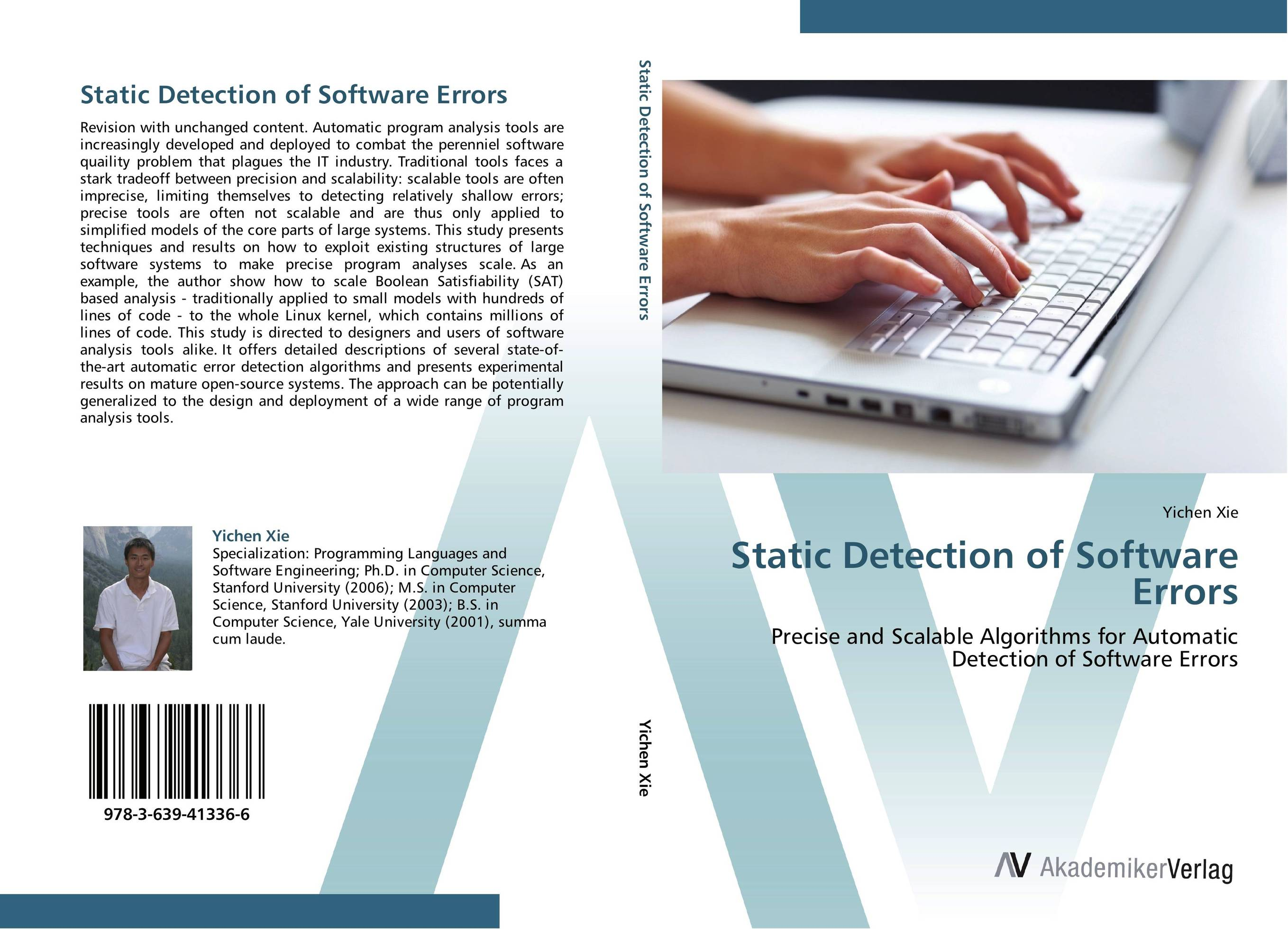 Static Detection of Software Errors dr juan a martinez velasco transient analysis of power systems solution techniques tools and applications