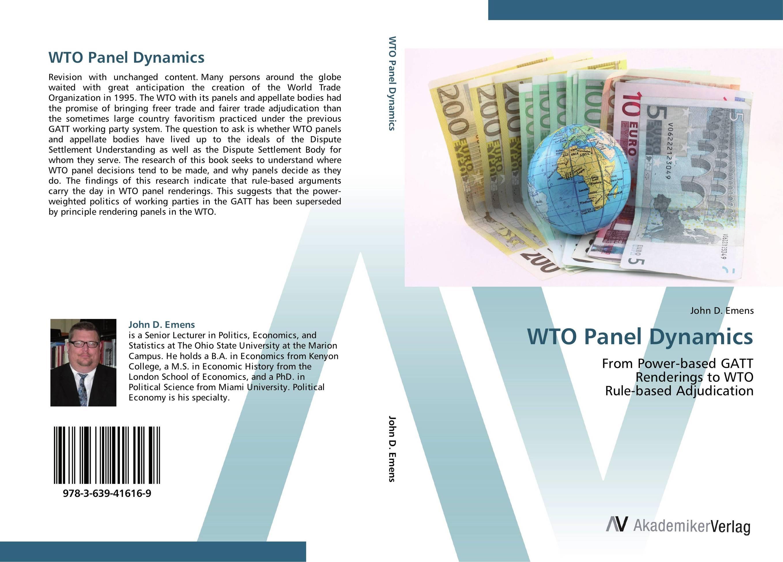 WTO Panel Dynamics