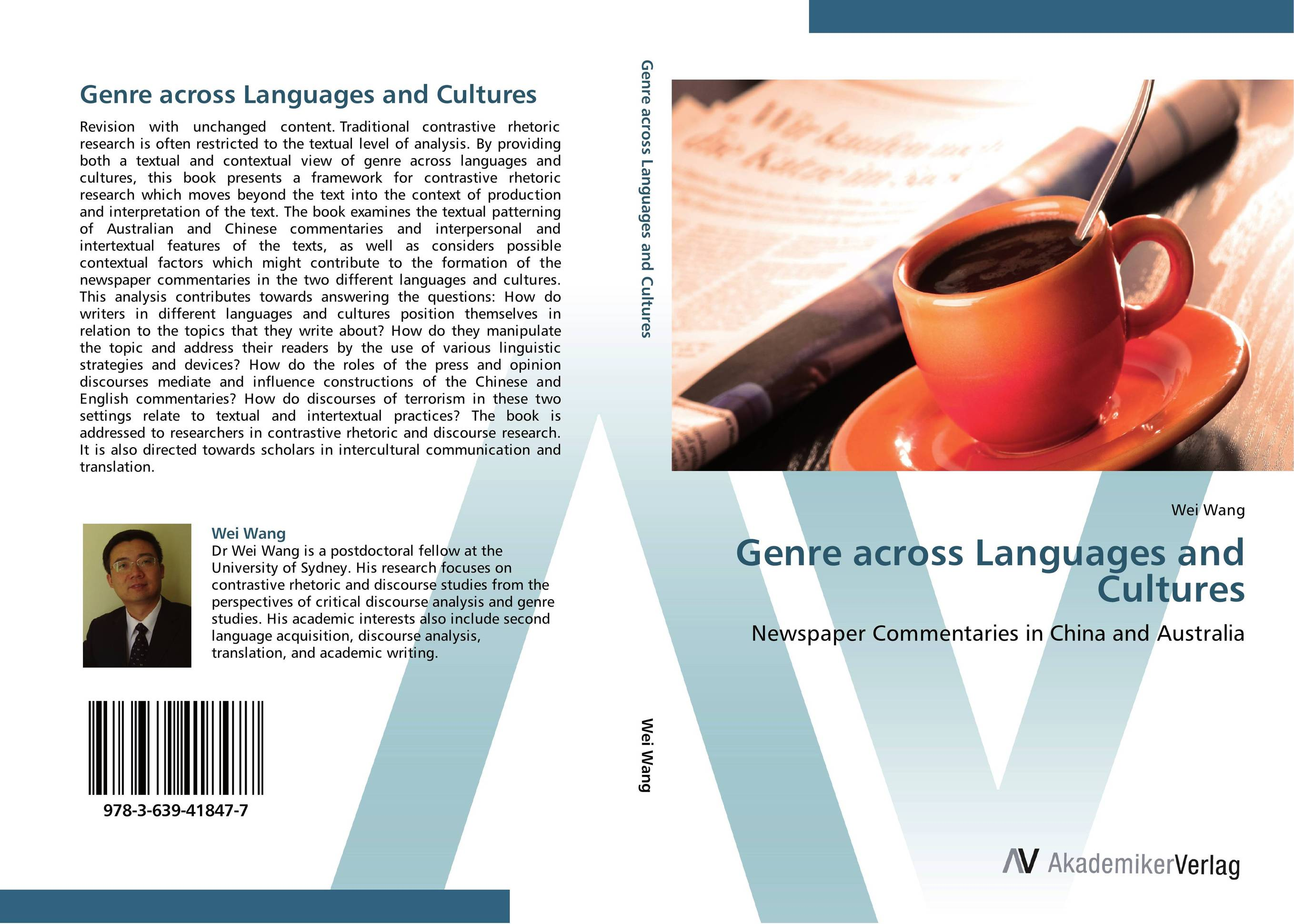 Genre across Languages and Cultures cultures