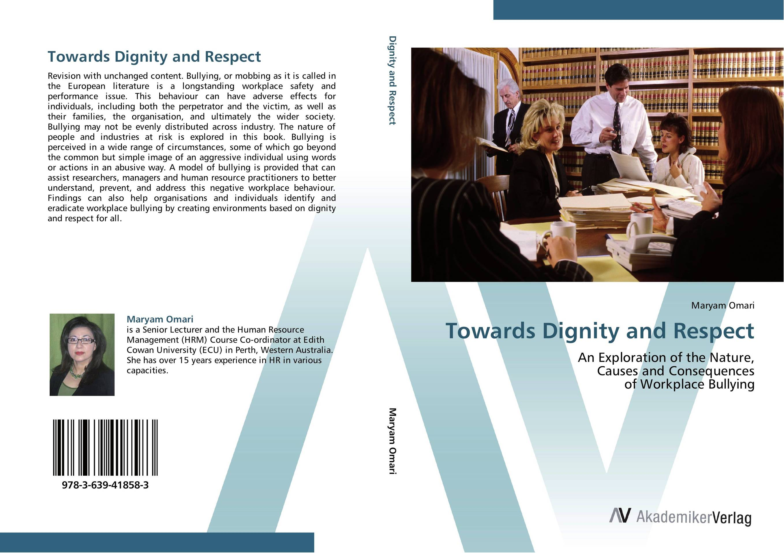 Towards Dignity and Respect fritz ilongo workplace bullying as psychological violence in tertiary institutions