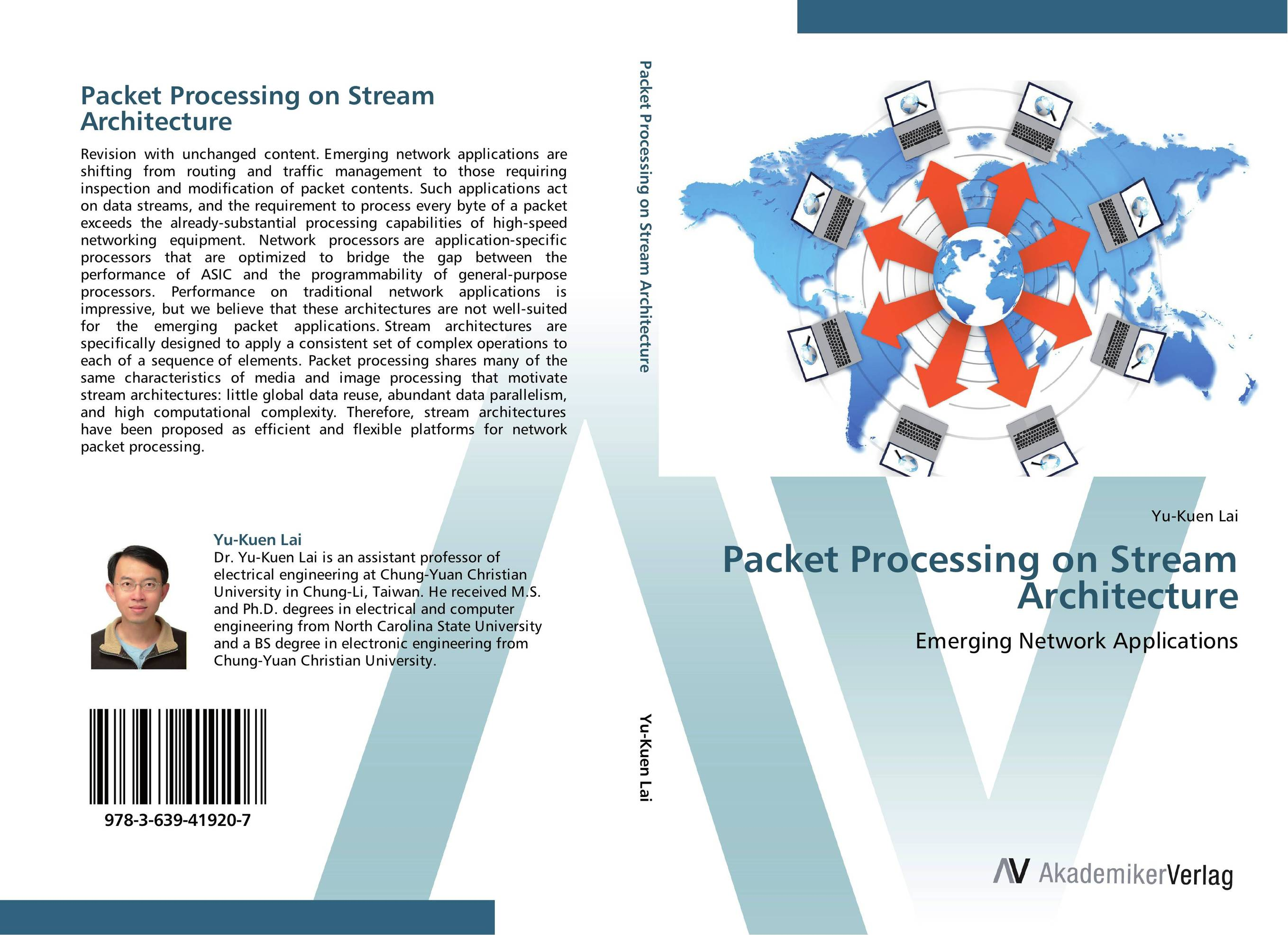 Packet Processing on Stream Architecture streams of stream classifications
