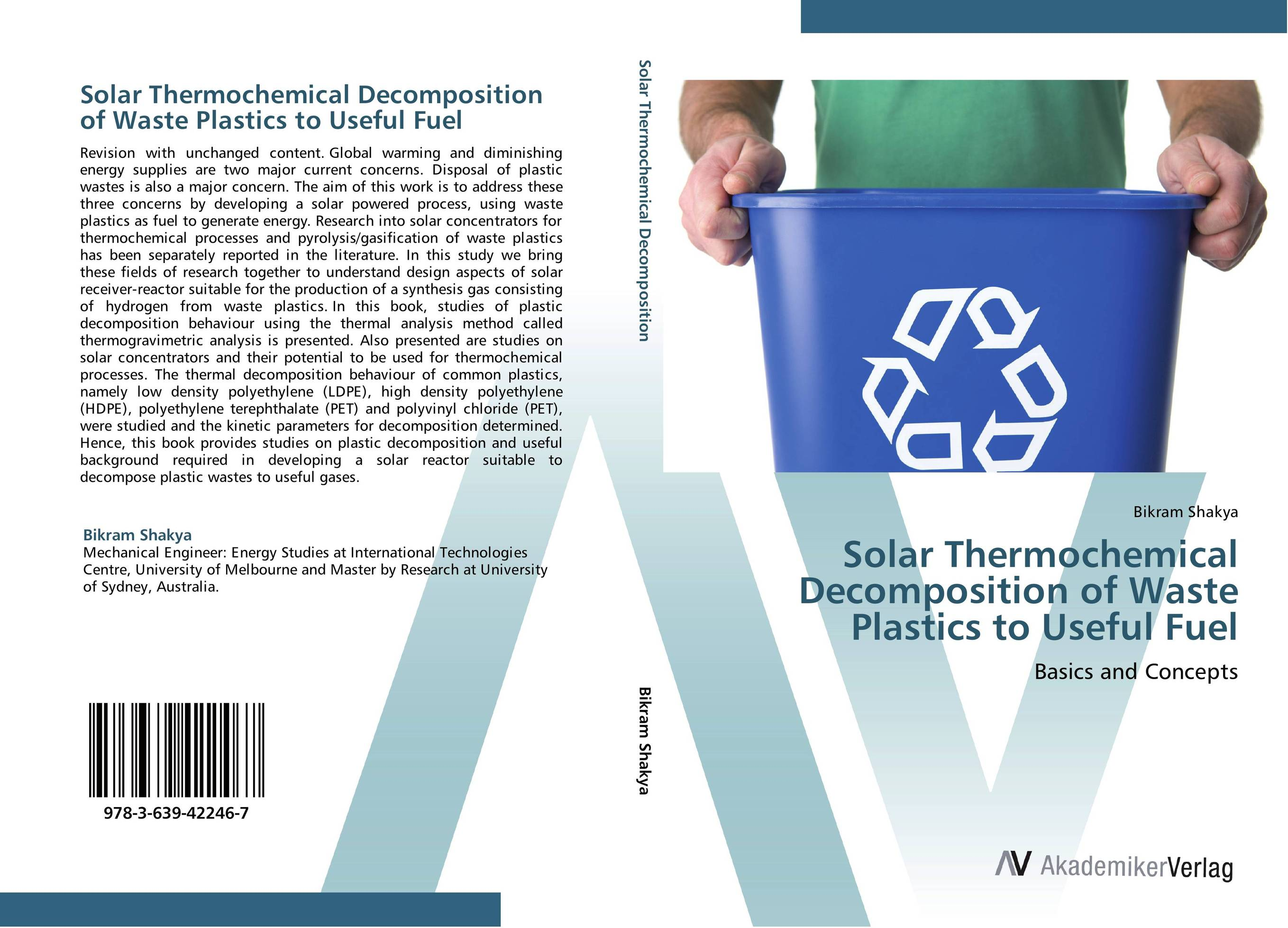 Solar Thermochemical Decomposition of Waste Plastics to Useful Fuel 1000pcs long range rfid plastic seal tag alien h3 used for waste bin management and gas jar management