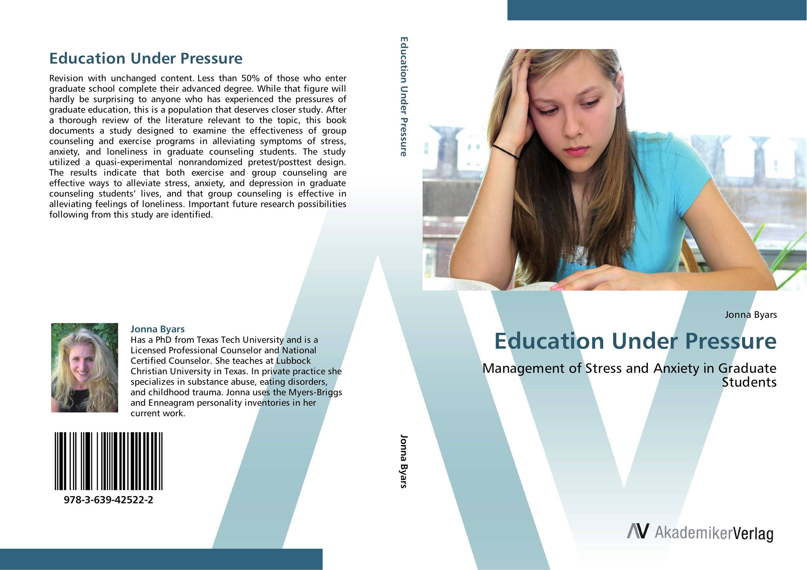 Education Under Pressure teenagers and their counseling needs