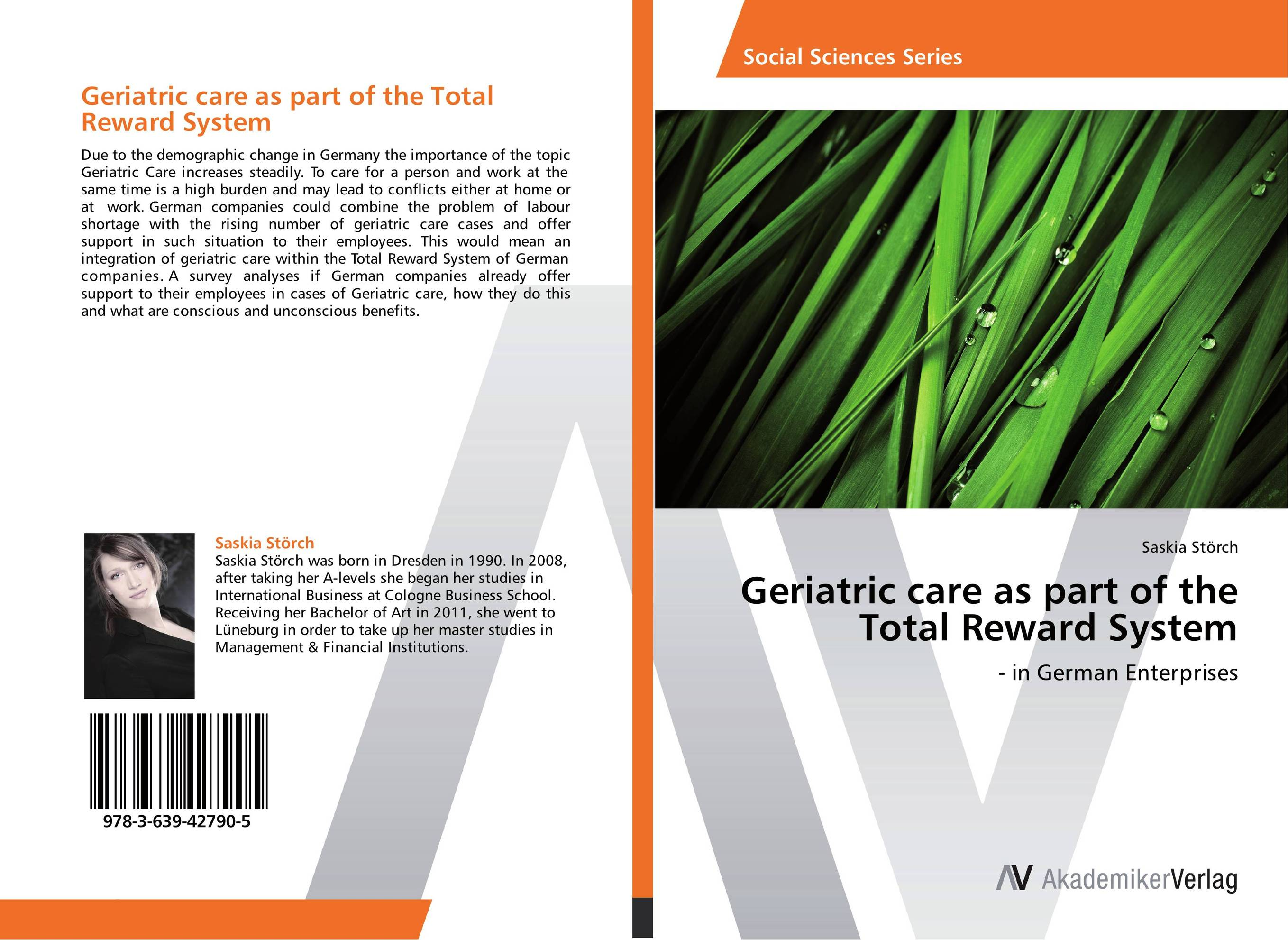 Geriatric care as part of the Total Reward System psychiatric and physical morbidity in an urban geriatric population