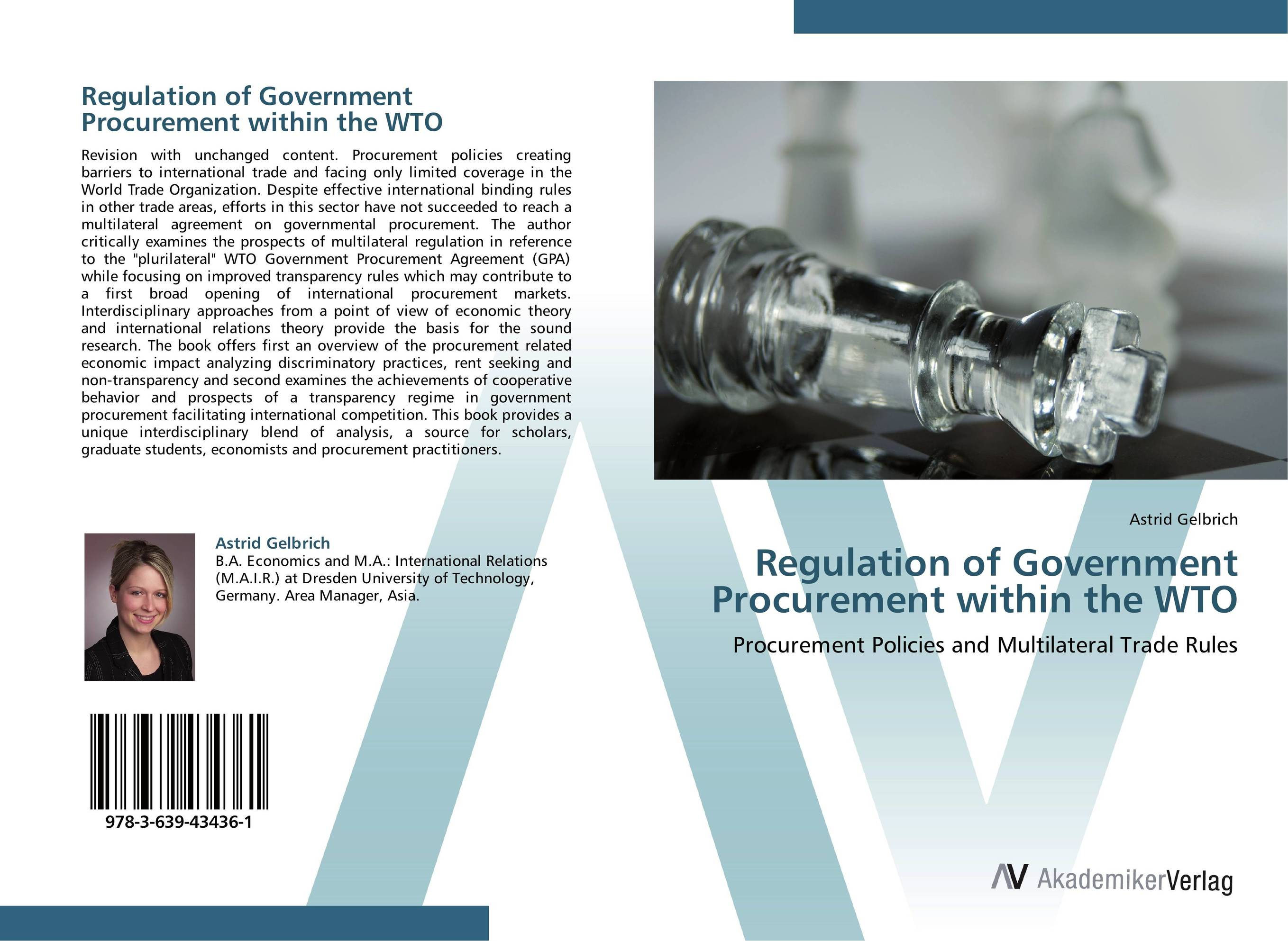 Regulation of Government Procurement within the WTO transparency and the international civil aviation organization