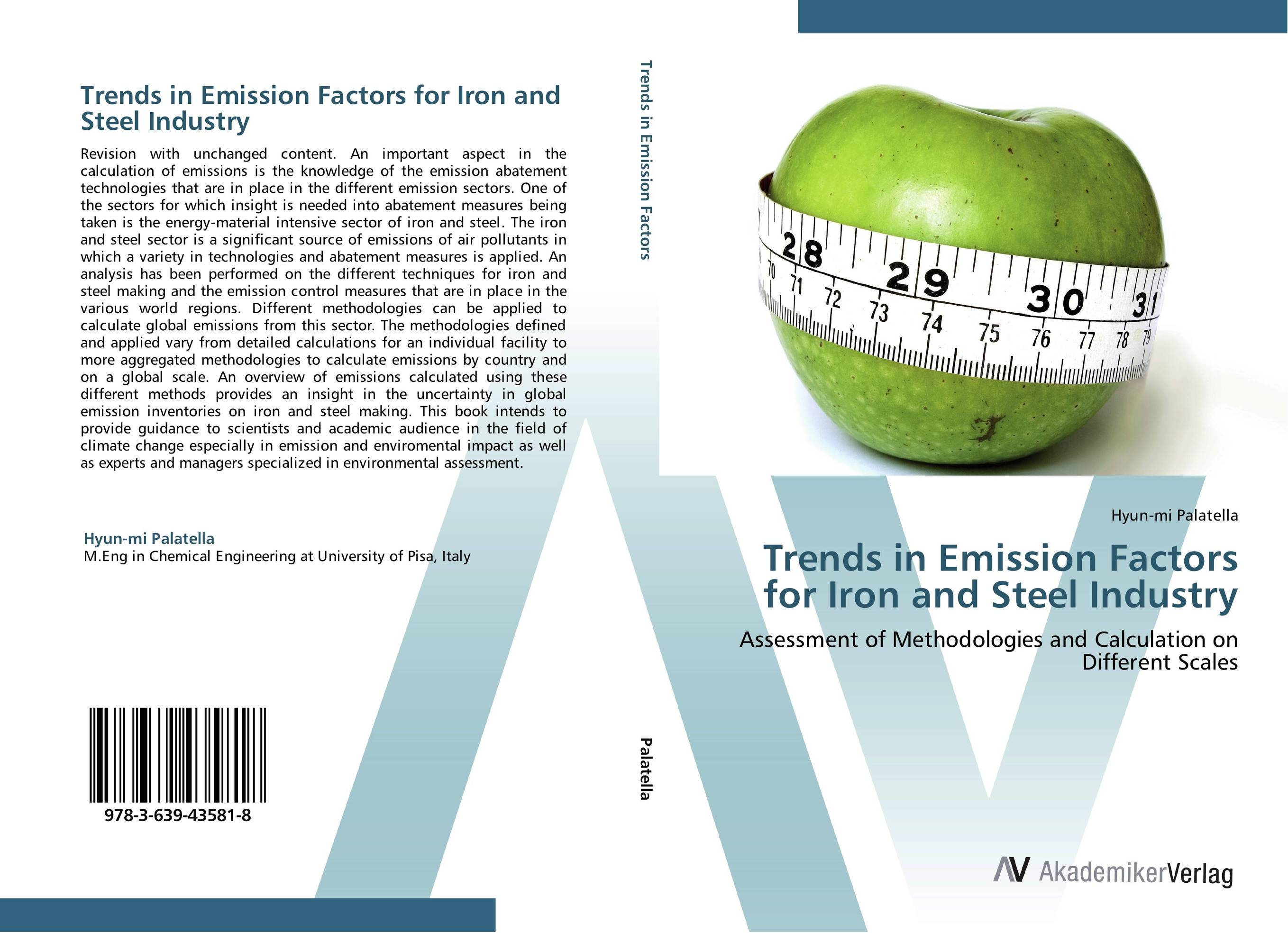 Trends in Emission Factors for Iron and Steel Industry air emission control handbook