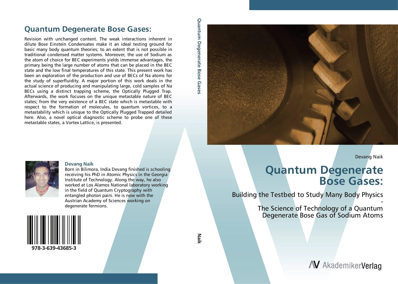 Quantum Degenerate Bose Gases: affair of state an
