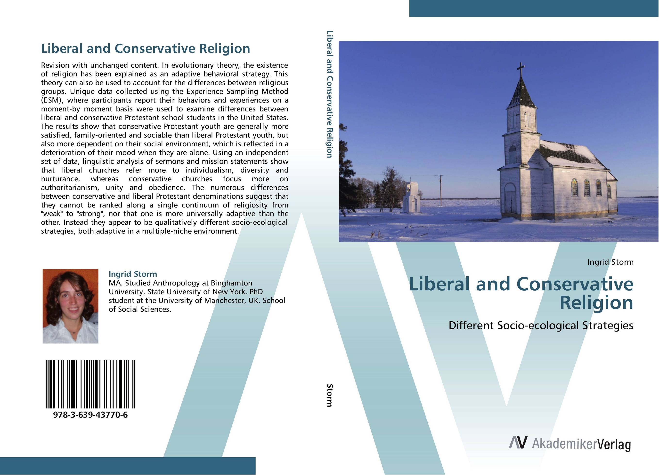 Liberal and Conservative Religion linguistic diversity and social justice