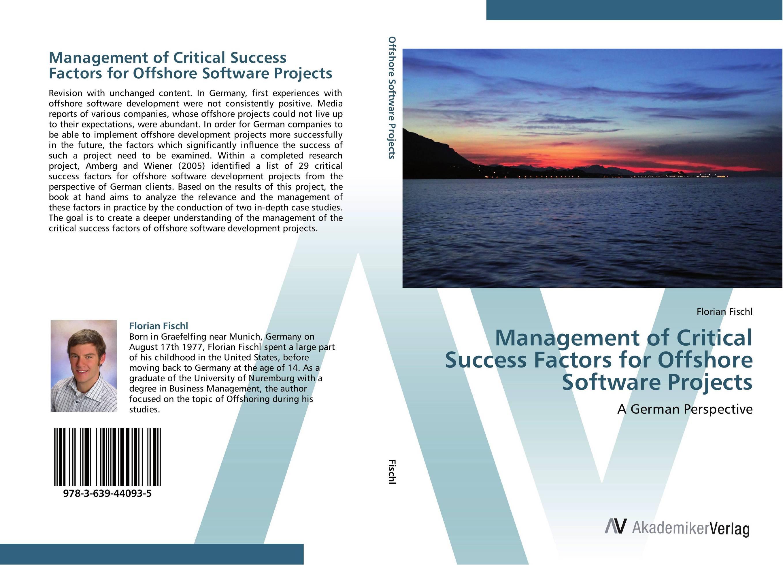 Management of Critical Success Factors for Offshore Software Projects critical success factors in multichannel mobile marketing