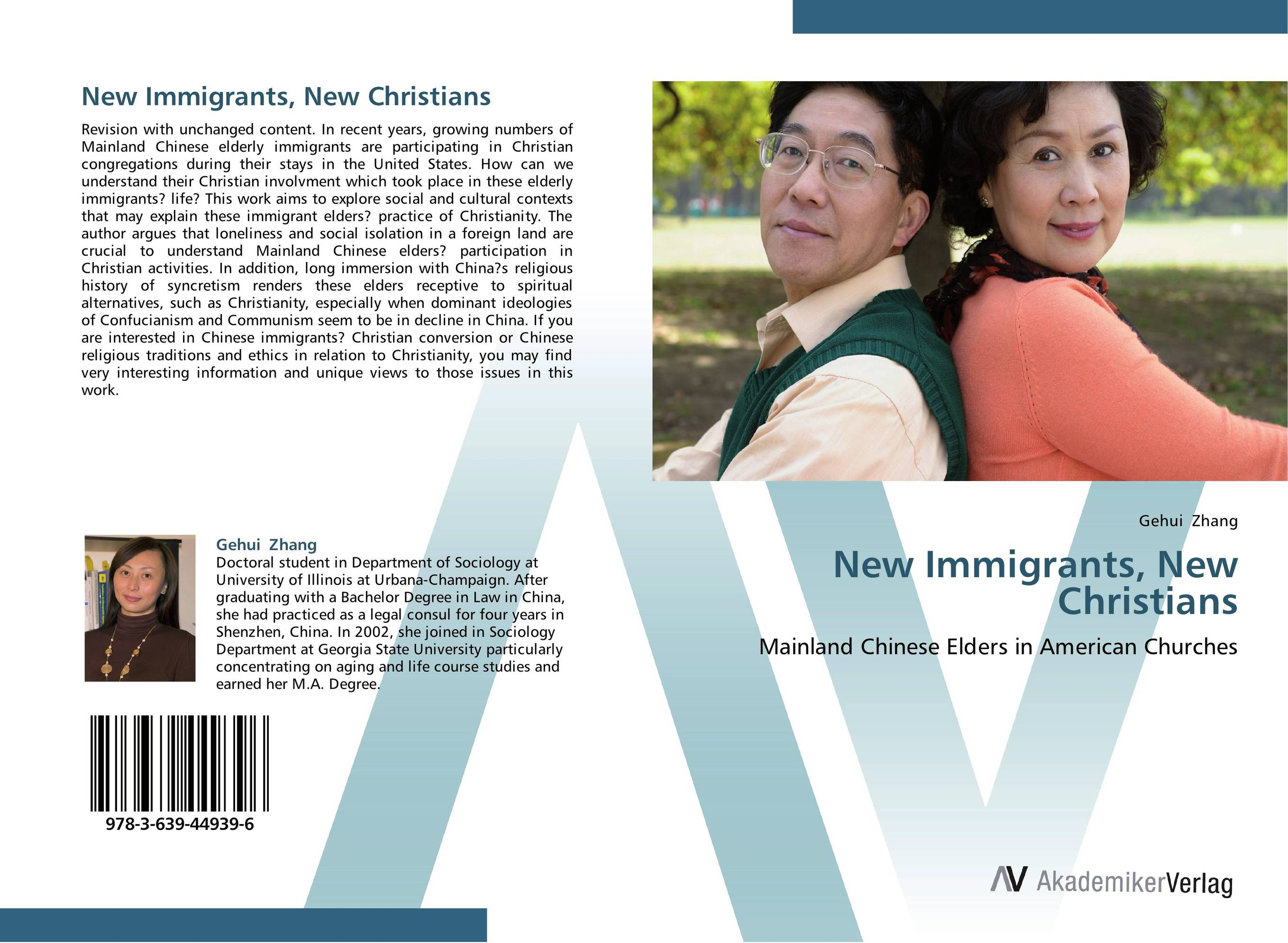 New Immigrants, New Christians understanding chinese senior immigrants contributions in canada