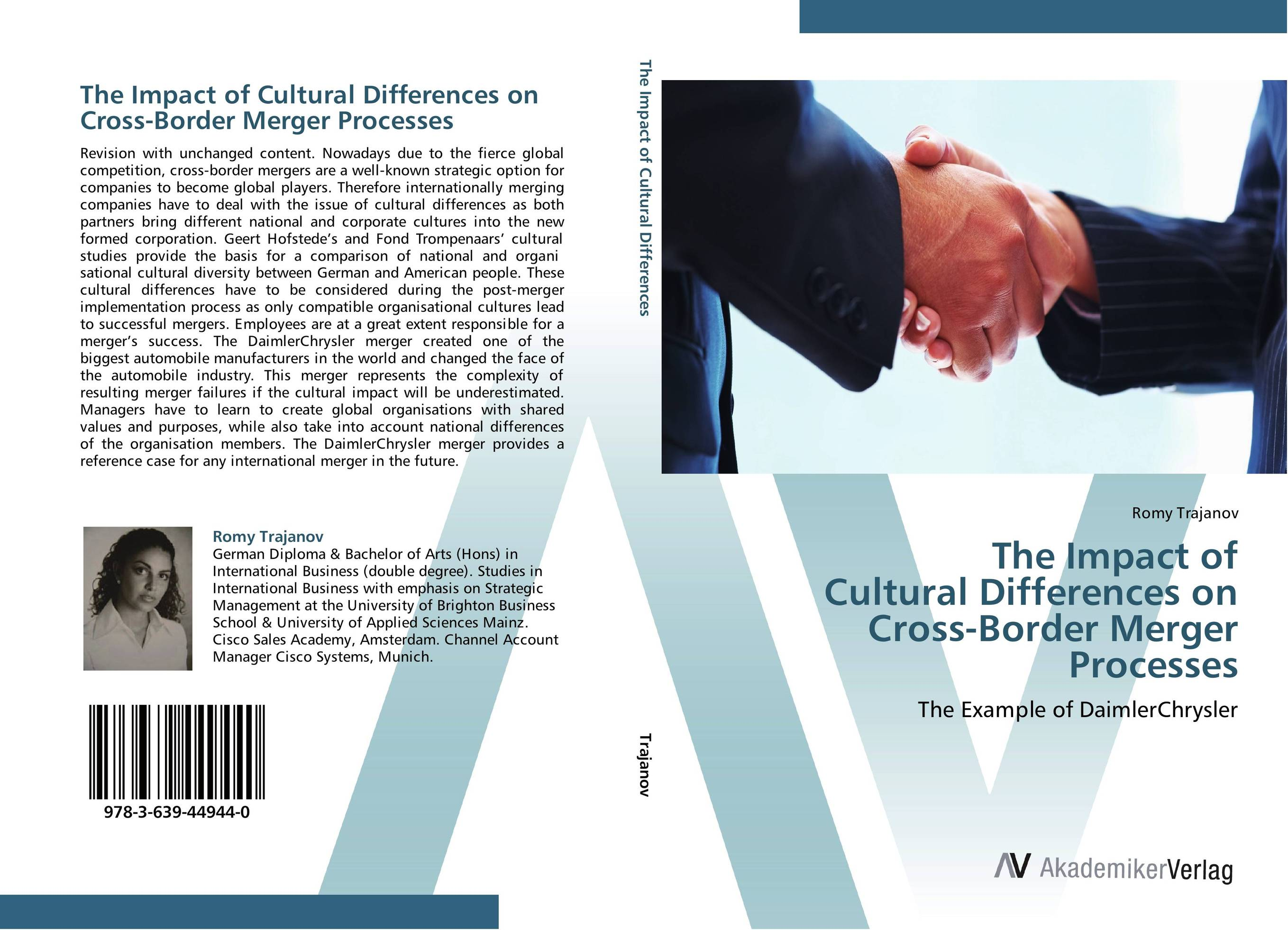 The Impact of Cultural Differences on Cross-Border Merger Processes thomas kirchner merger arbitrage how to profit from global event driven arbitrage
