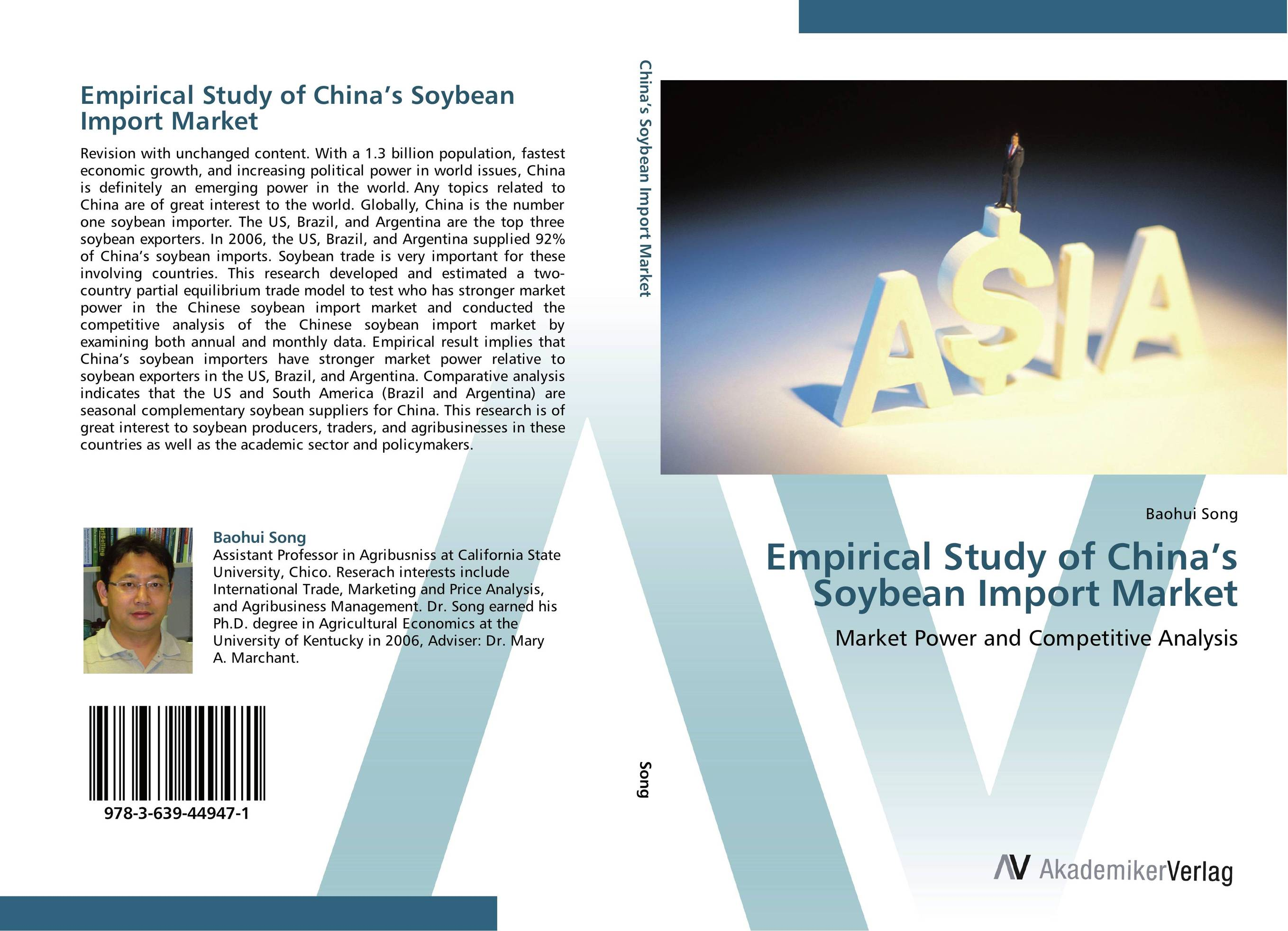 Empirical Study of China's Soybean Import Market arcade ndoricimpa inflation output growth and their uncertainties in south africa empirical evidence from an asymmetric multivariate garch m model