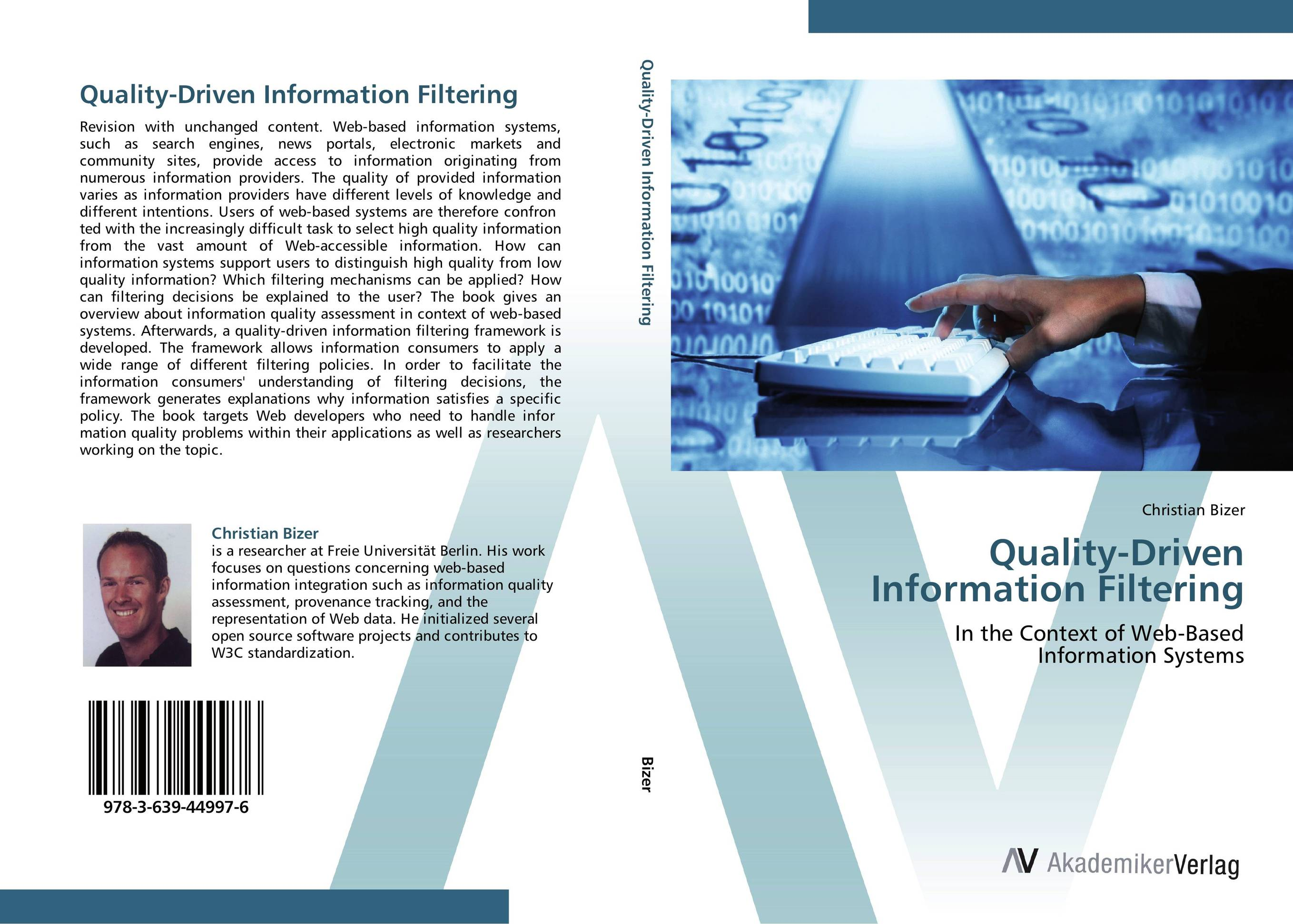 Quality-Driven Information Filtering driven to distraction