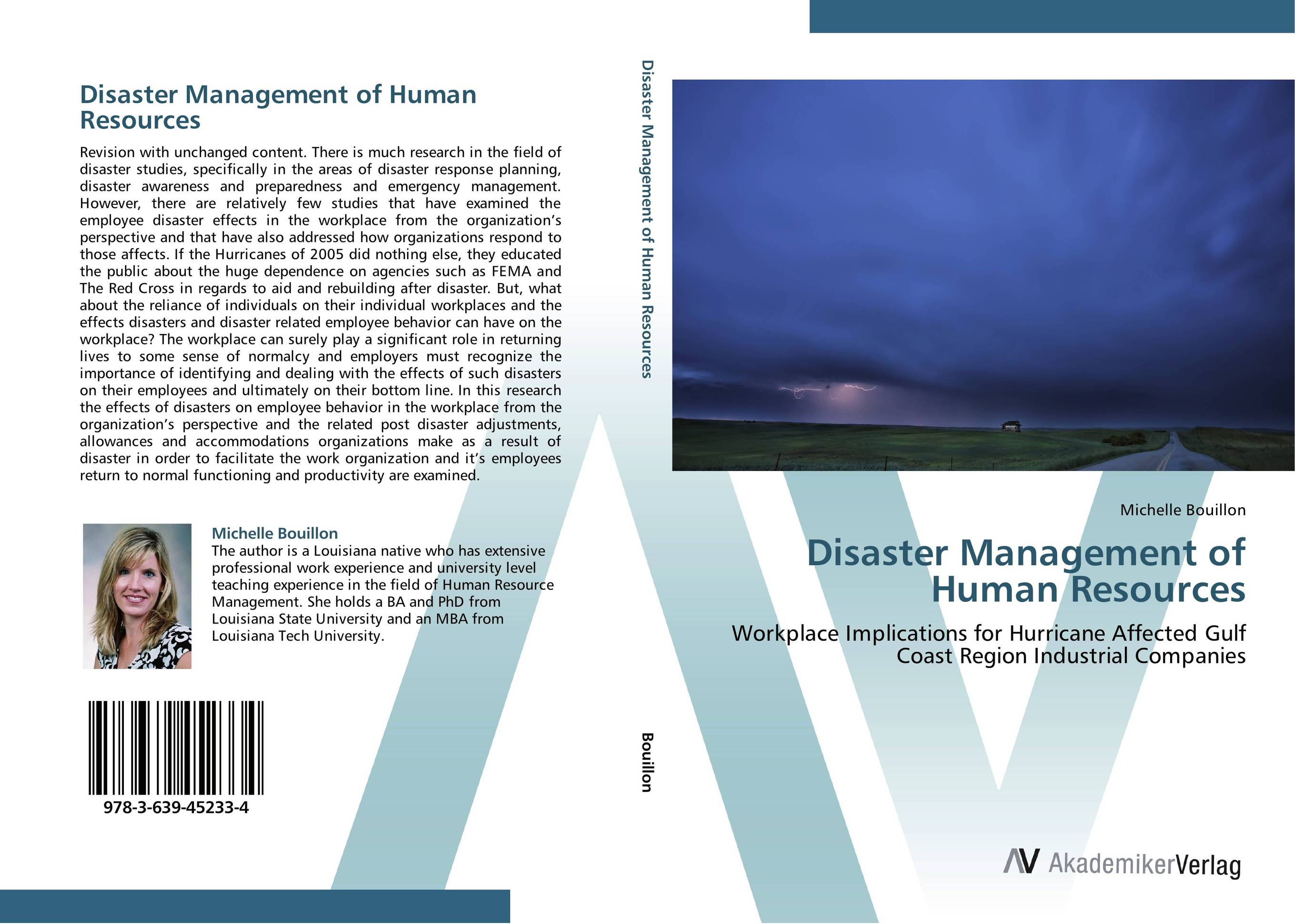 Disaster Management of Human Resources