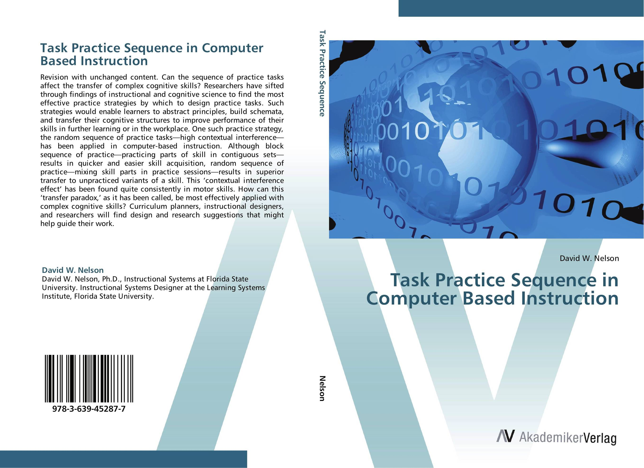 Task Practice Sequence in Computer Based Instruction iso surgical suture practice module new skin suture skill practice model