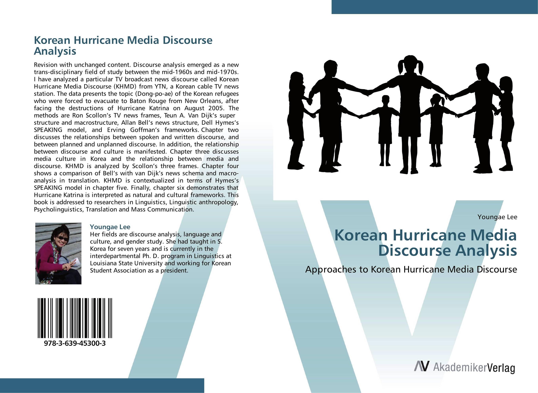 Korean Hurricane Media Discourse Analysis